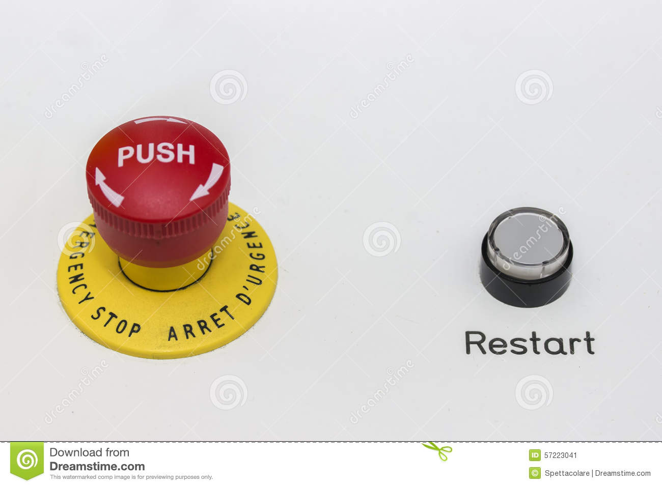 Emergency stop icon clipart emergency off - Black Button Emergency