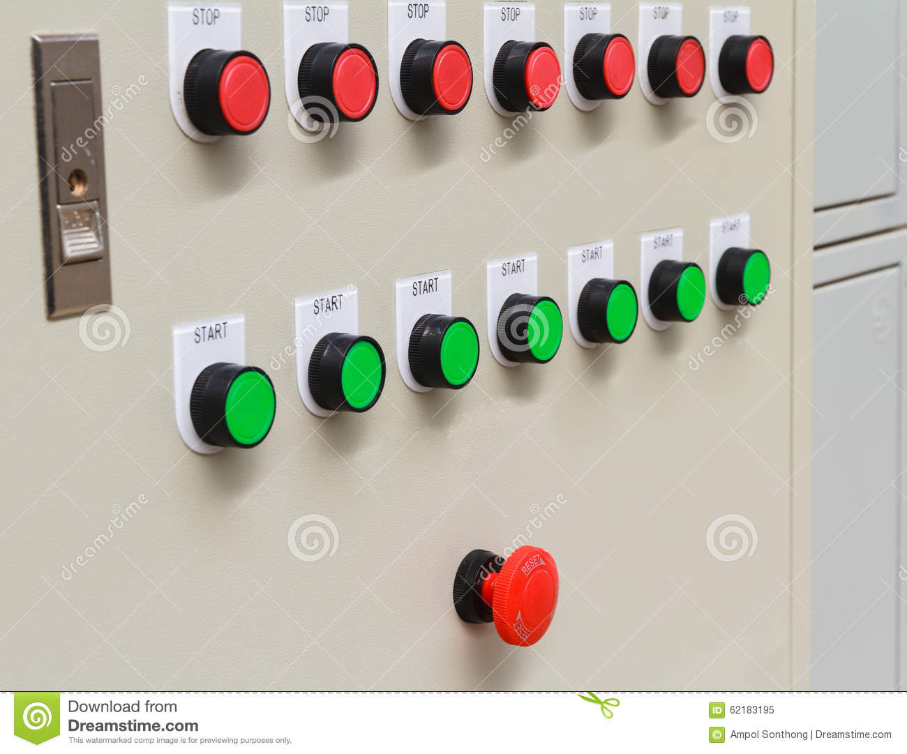 Emergency stop icon clipart emergency off - Buttons Control Emergency