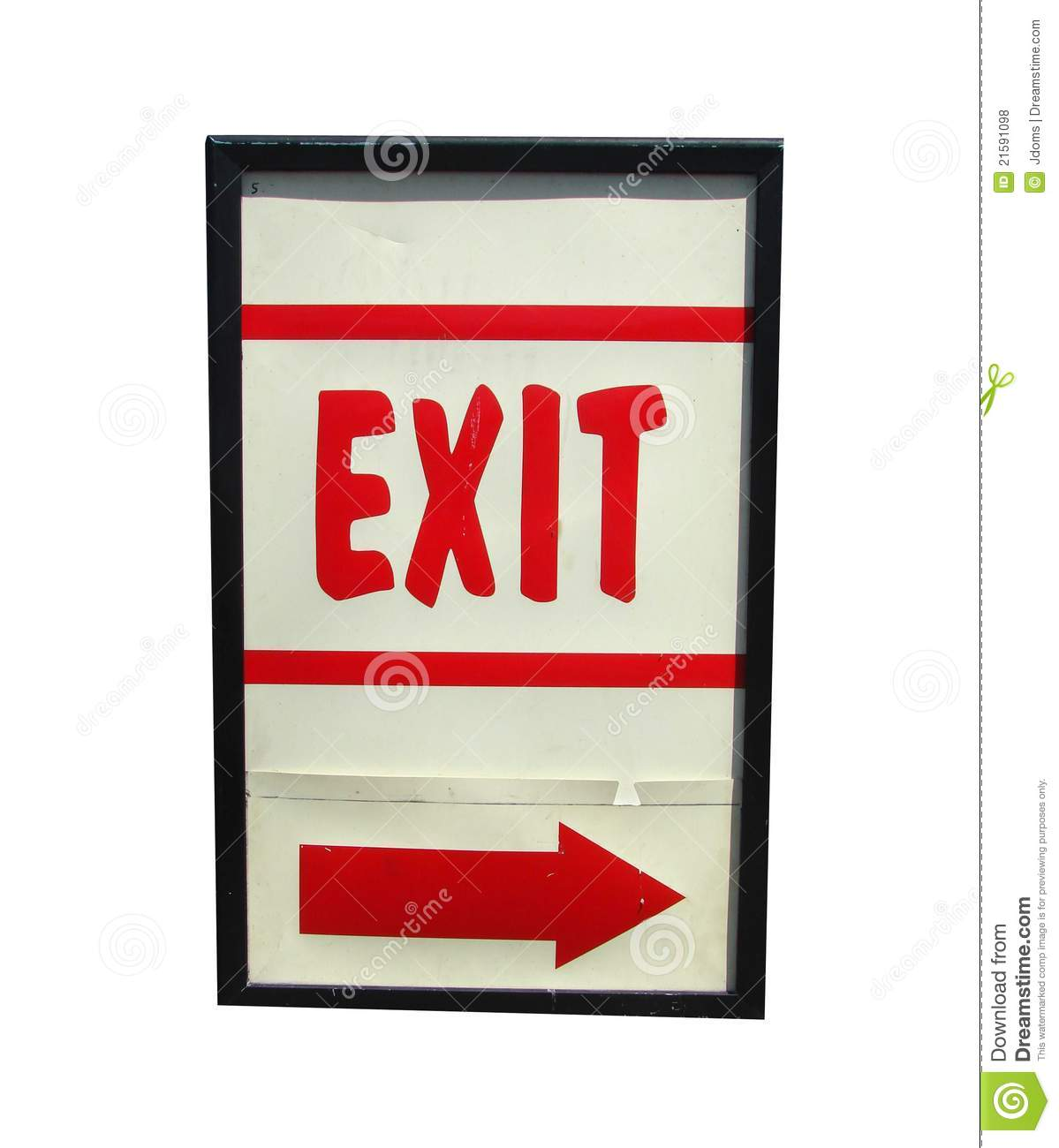 More similar stock images of   Red exit sign  Red Exit Sign