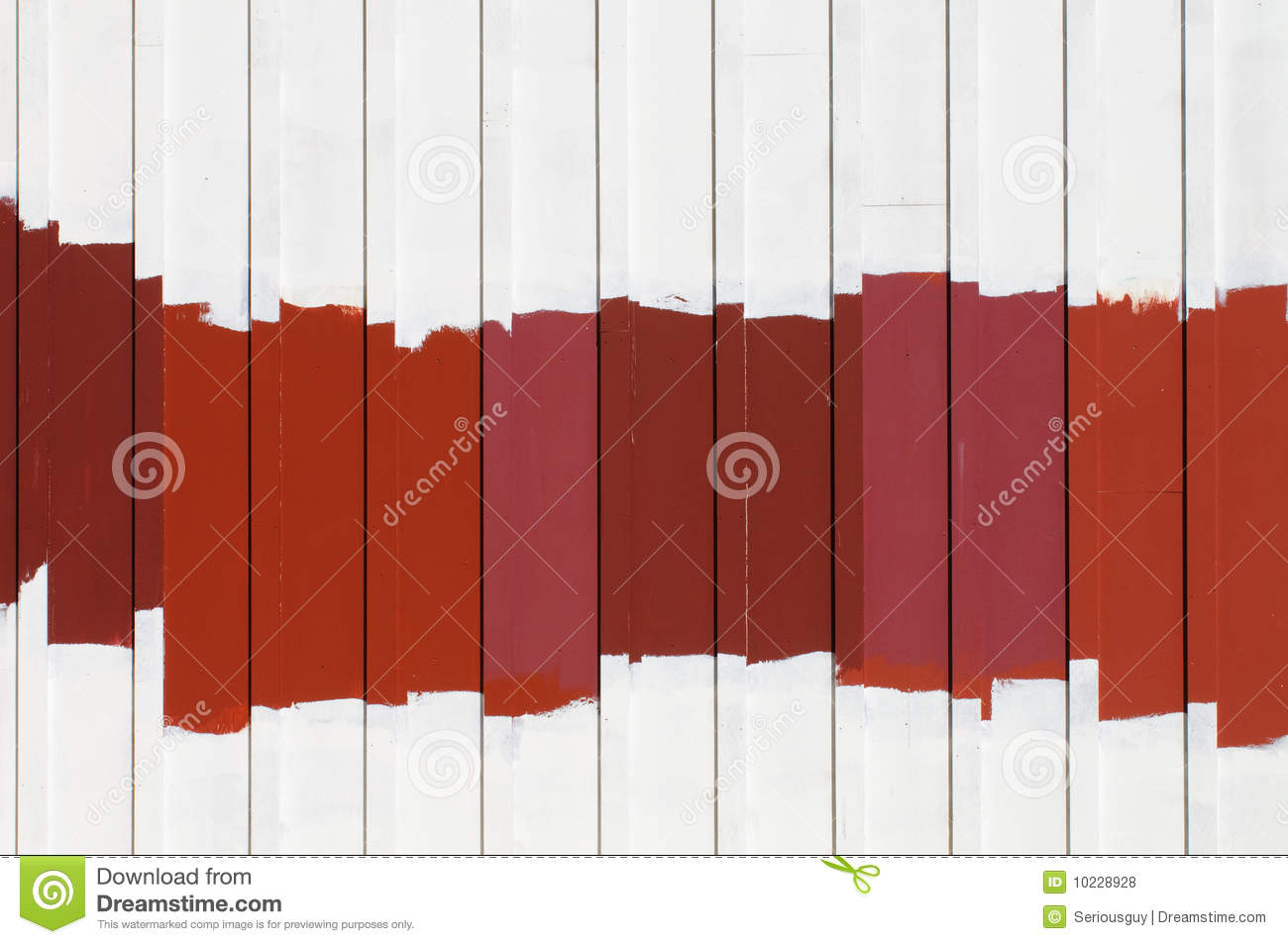 Red Exterior Paint Samples Stock Photo Image Of Hues 10228928