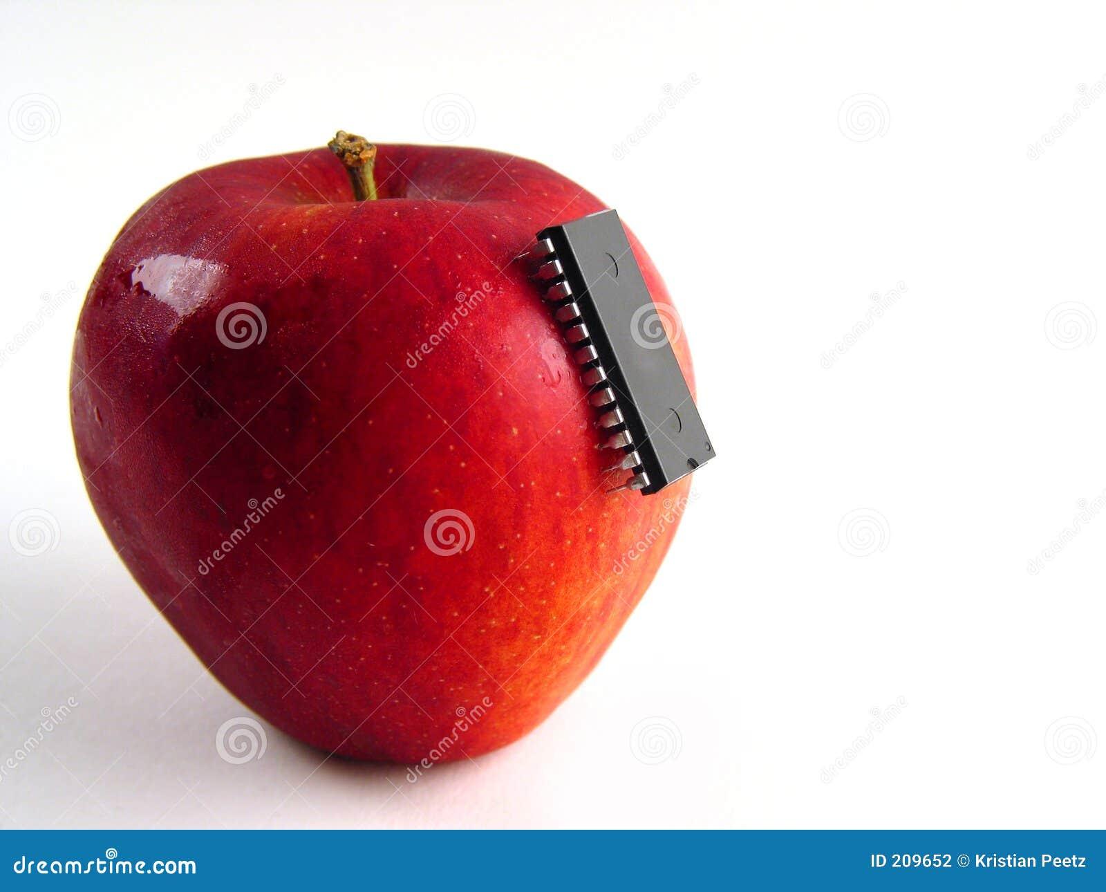Red för äppleattackchip