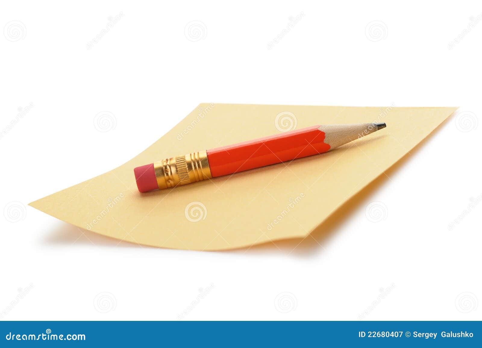 Red för blyertspenna för anmärkningspapper