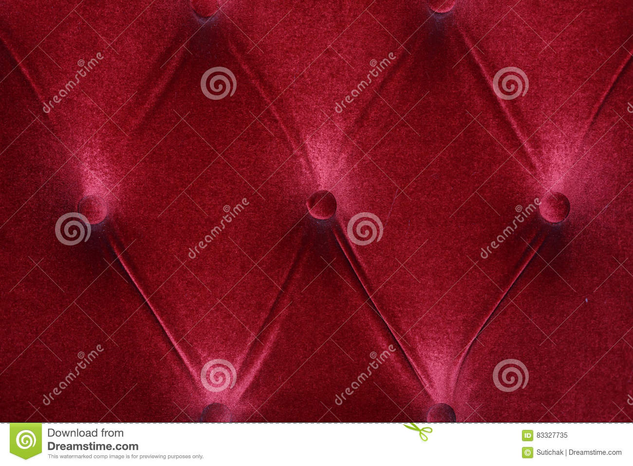 Red Fabric Cushion Furniture Sofa Texture Stock Image ...