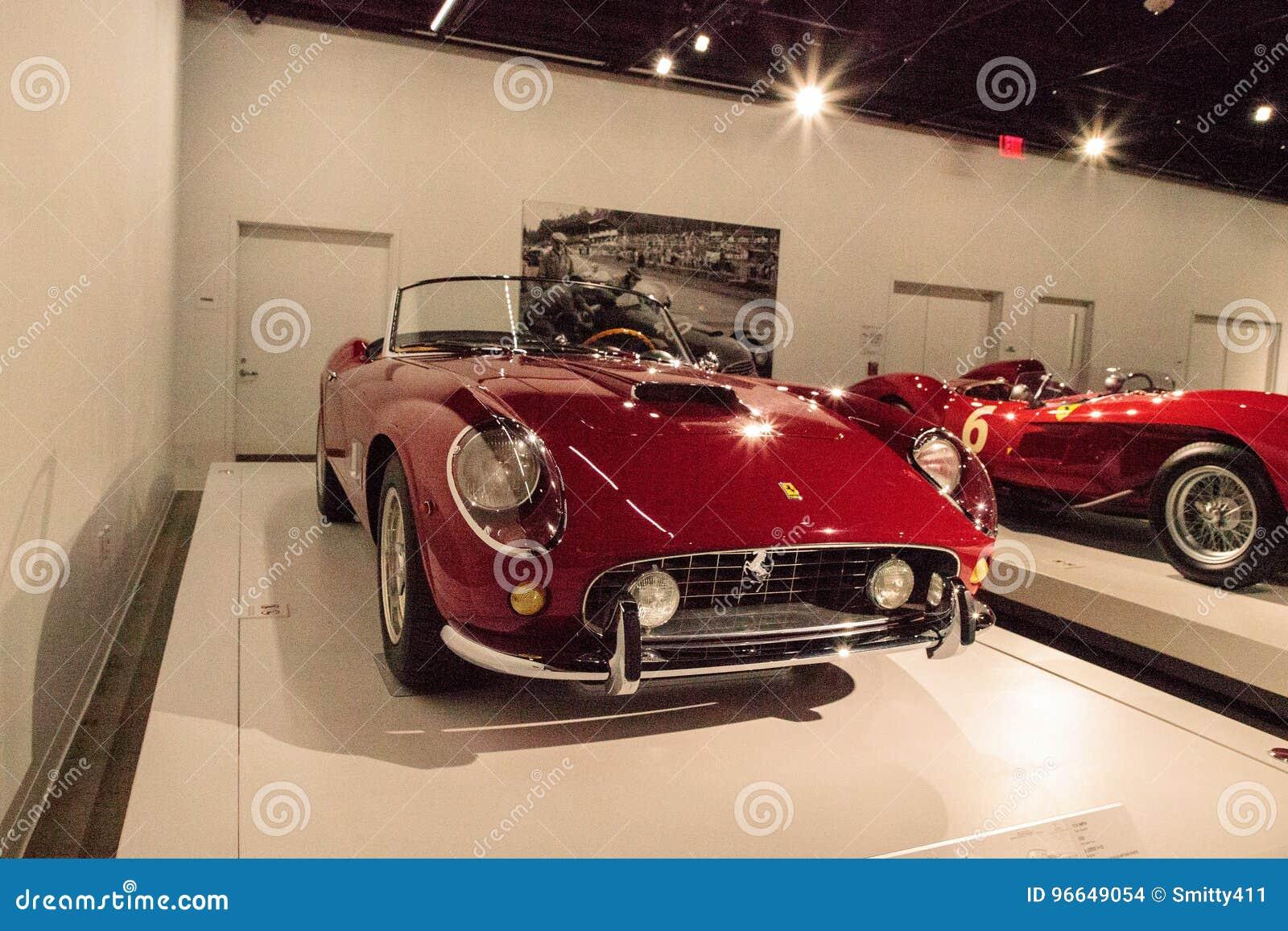 Red 1961 Ferrari 250 Gt California Spyder Swb Editorial Stock Image