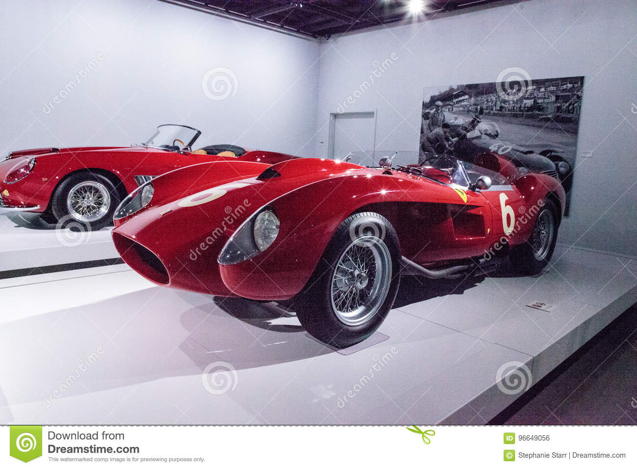Red 1958 Ferrari 250 Tr Spyder Editorial Photo Image Of