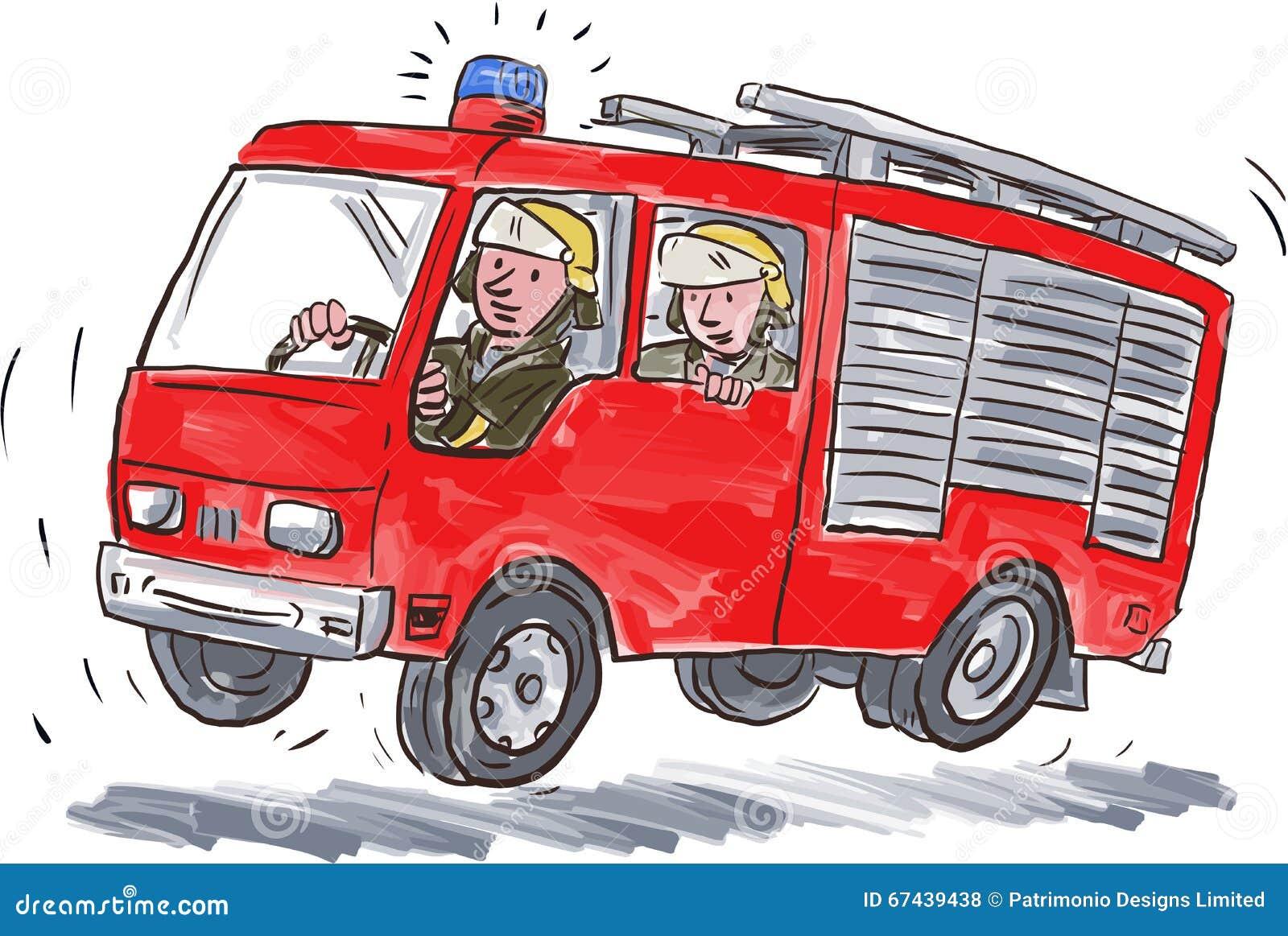 Riding a fireman