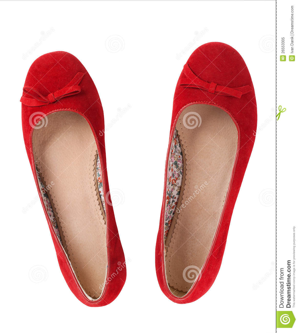 cc2f509804b Red flat shoes stock image. Image of shoe