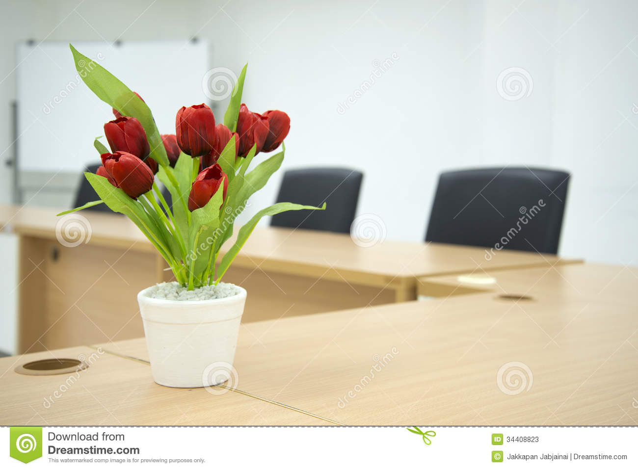 Red conference room chairs - Royalty Free Stock Photo Download Red Flower On Meeting Room