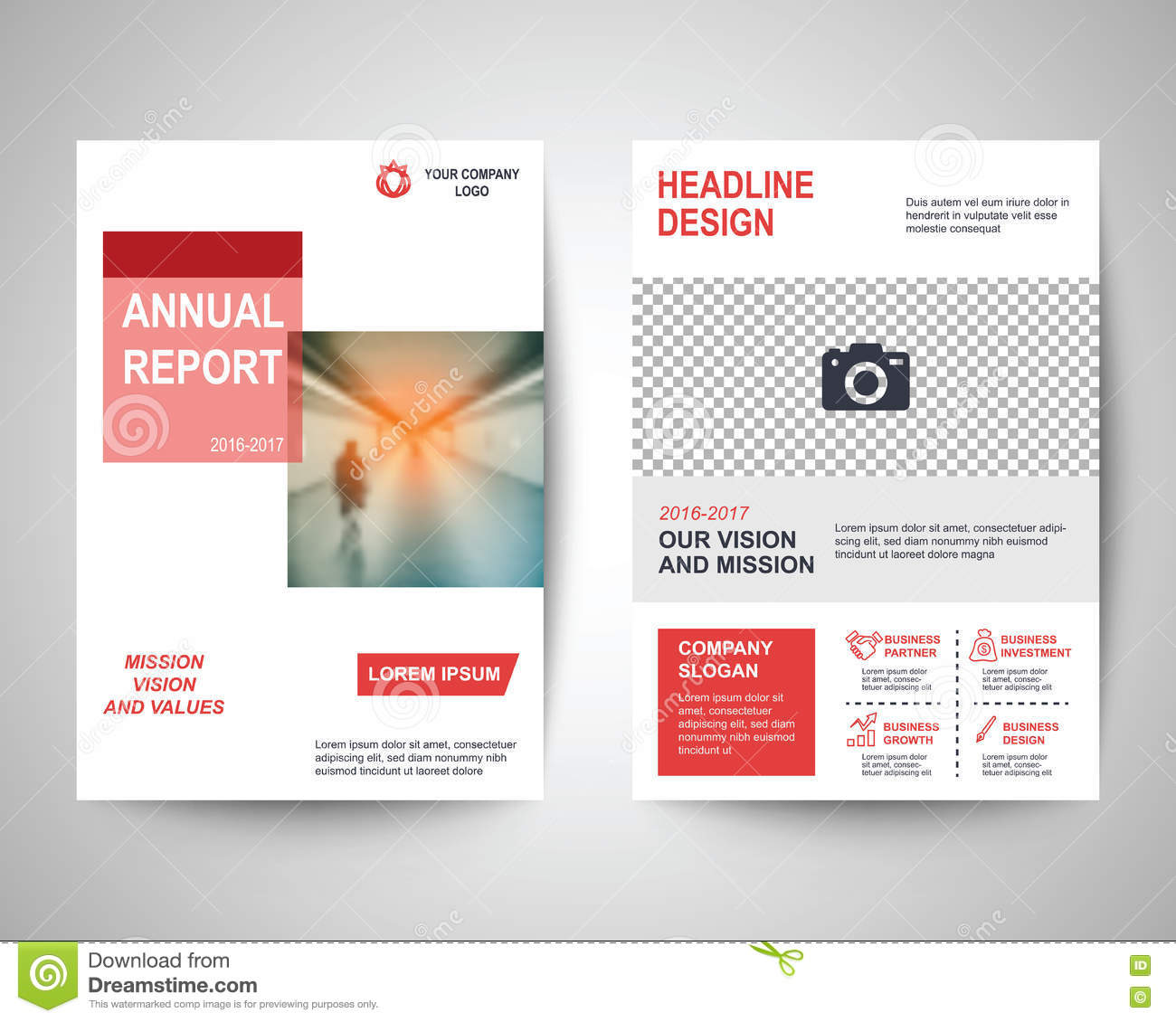Red Flyer A4 Template Vector Image 81816957 – Red Flyer Template