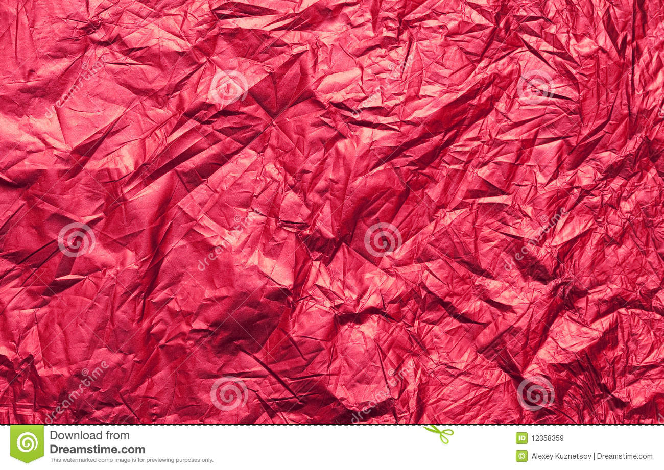 Red foil texture