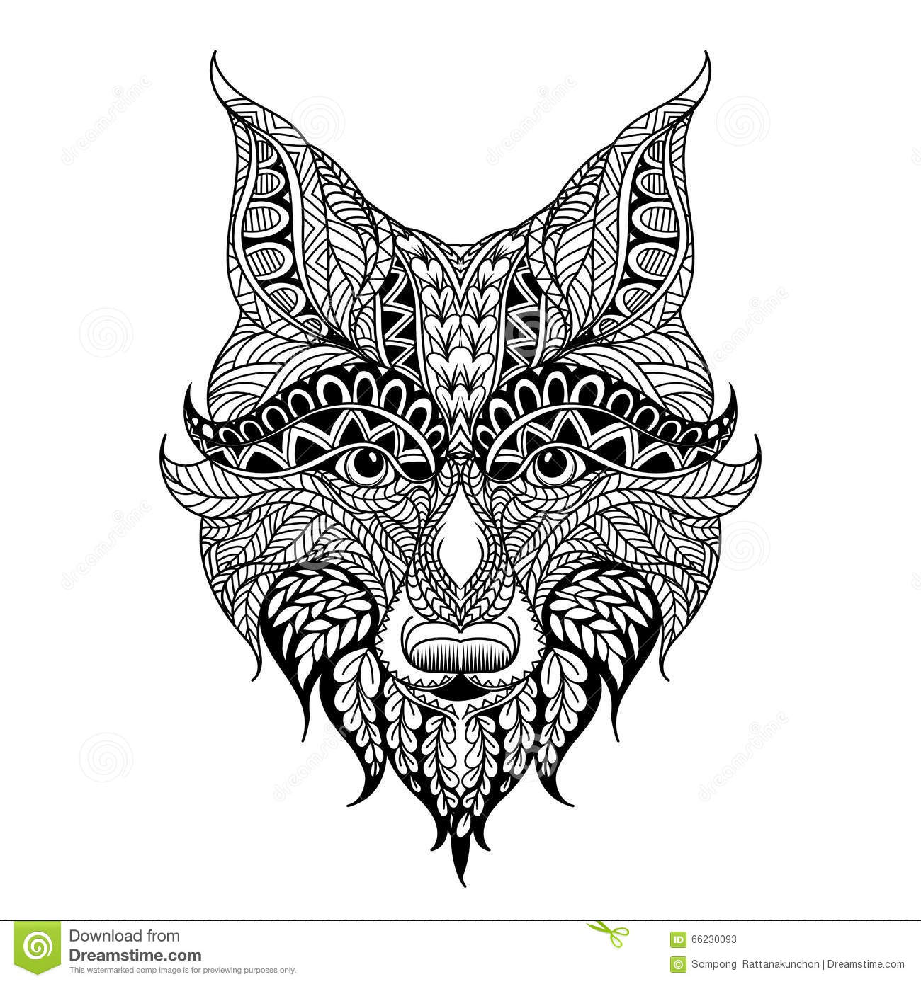 Red Fox Head Stock Illustrations – 1,041 Red Fox Head Stock ...