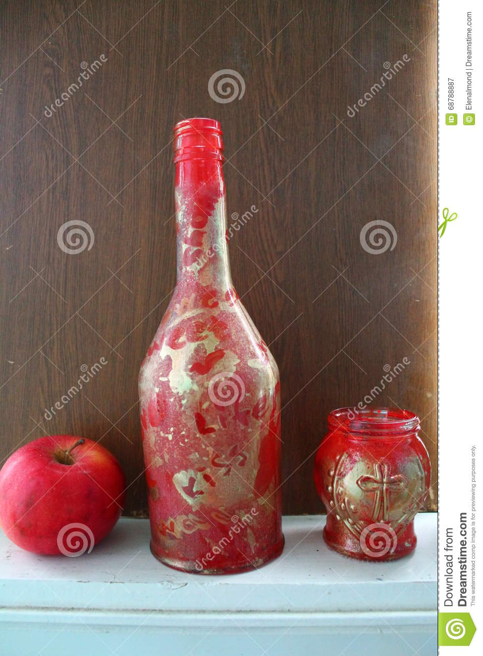 Red stock photo image 68788887 for Apples decoration for home