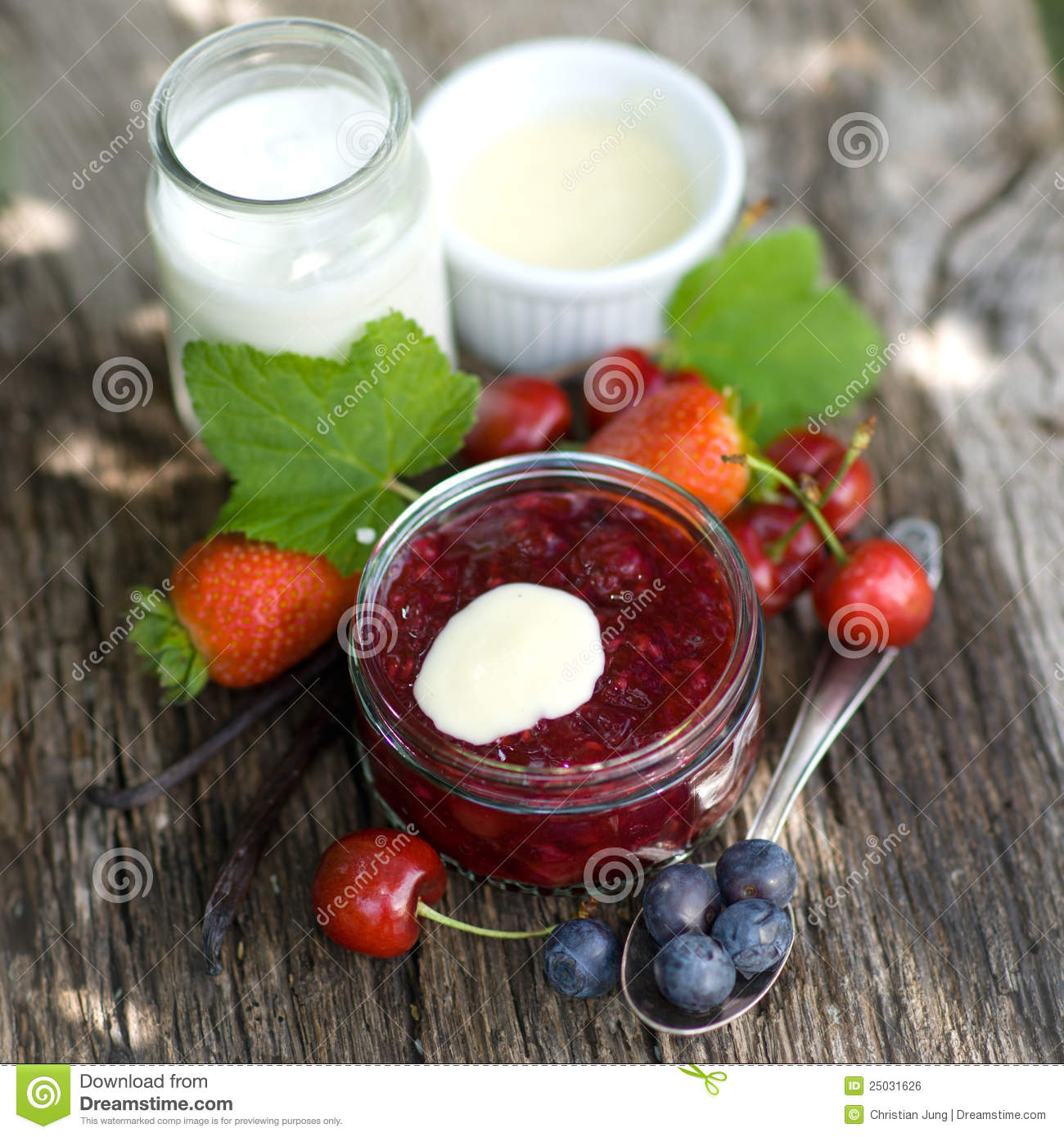 Download Red fruit jelly stock photo. Image of jelly, fruits, stewed - 25031626