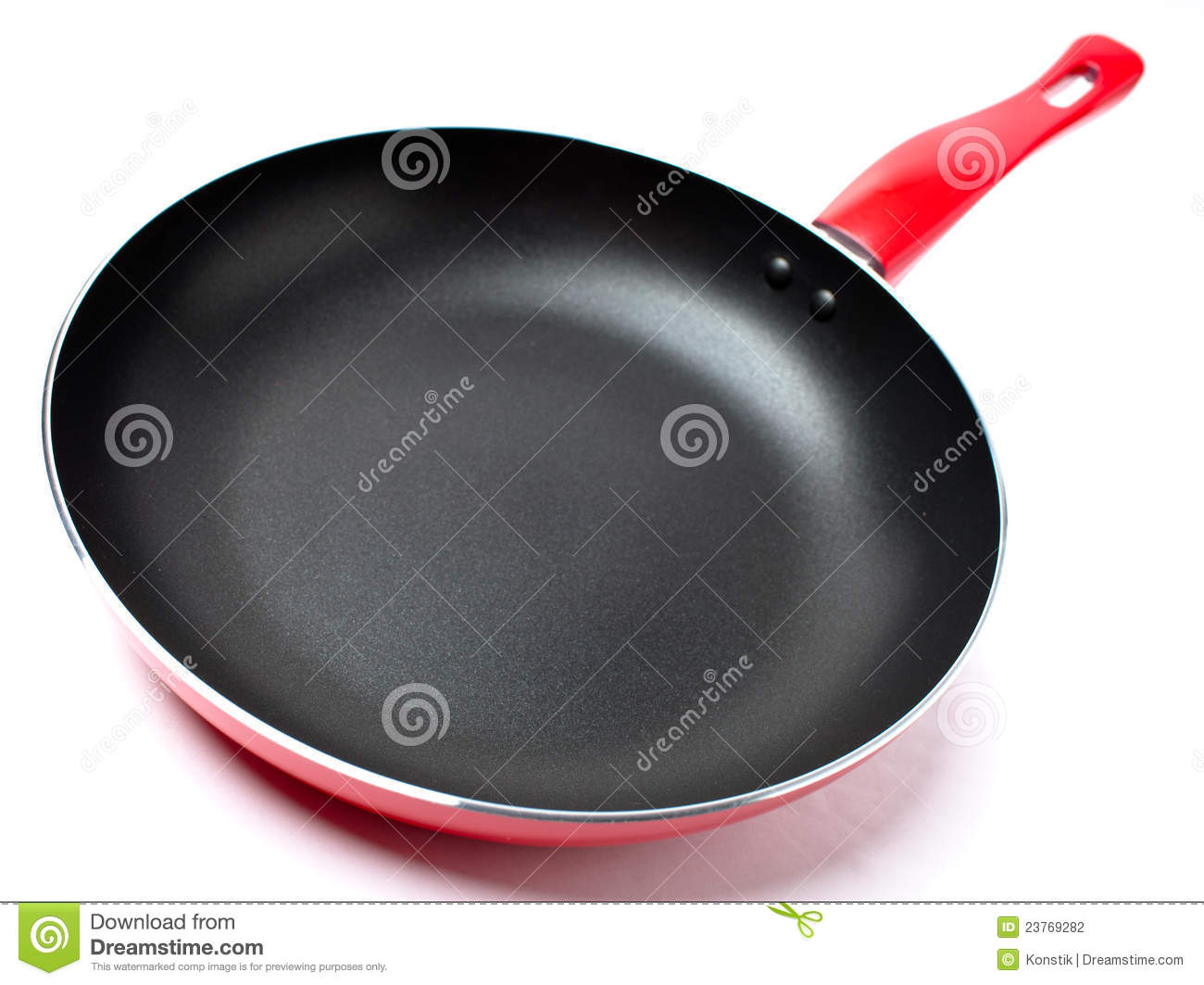 how to make a frying pan become nonstick