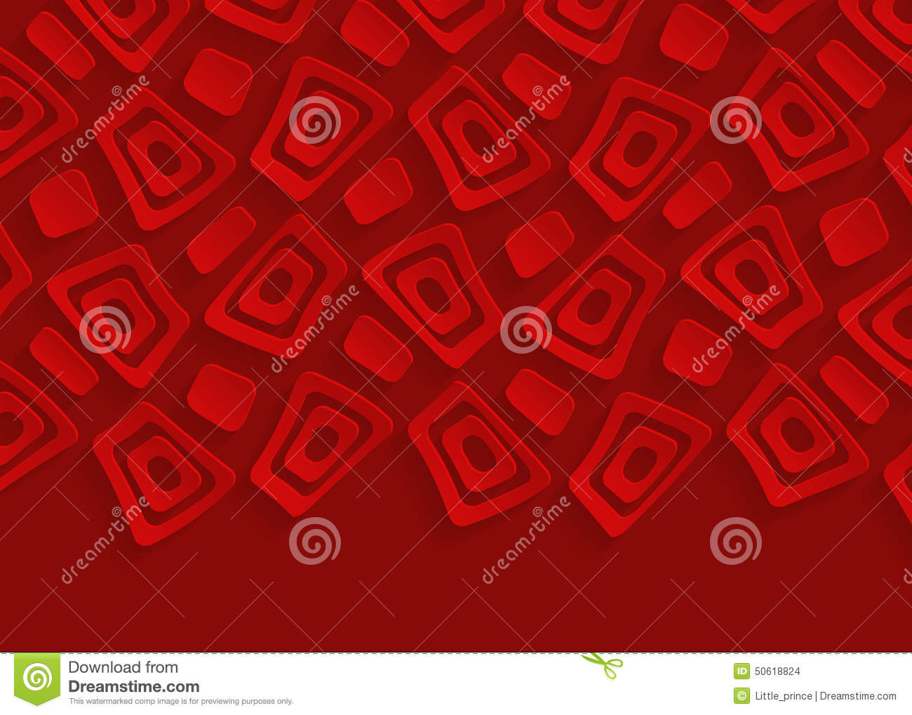 Red Geometric Pattern Paper Abstract Background Stock ...