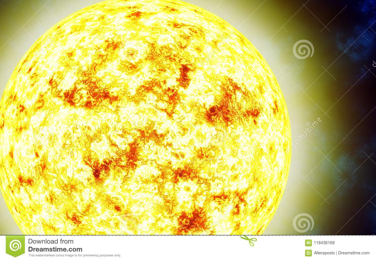 Red Giant Star Sun Solar Isolated On A Cosmic Background Stock Illustration Illustration Of Future Galactic 118436169