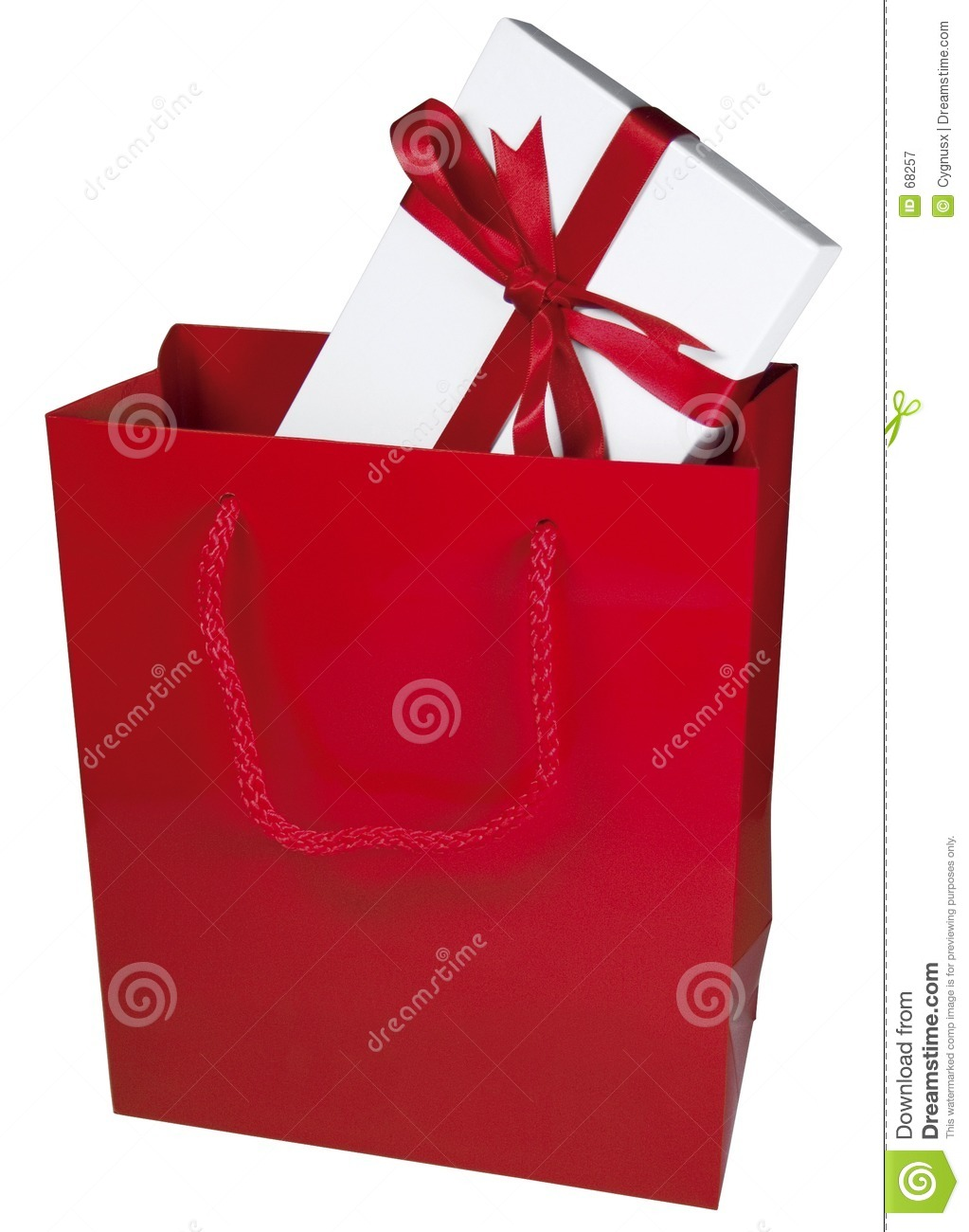 Red Gift Bag Stock Image Of Luxury Boyfriend Read