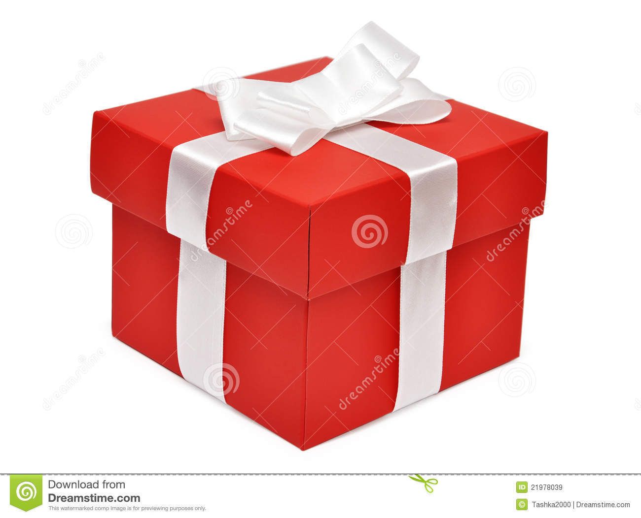 Red Gift Box Royalty Free Stock Images - Image: 21978039