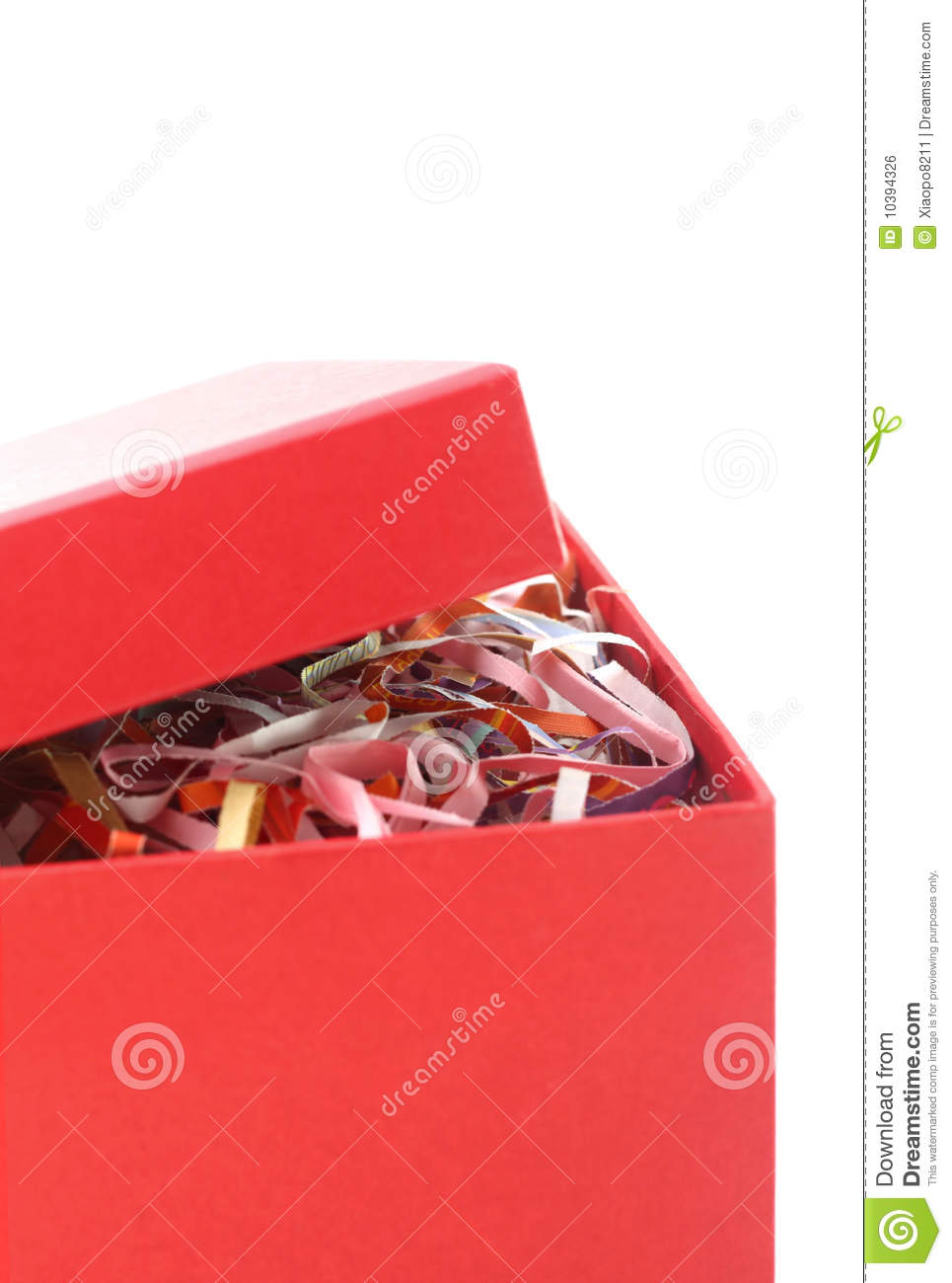 Red Gift Box Open Royalty Free Stock Image - Image: 10394326