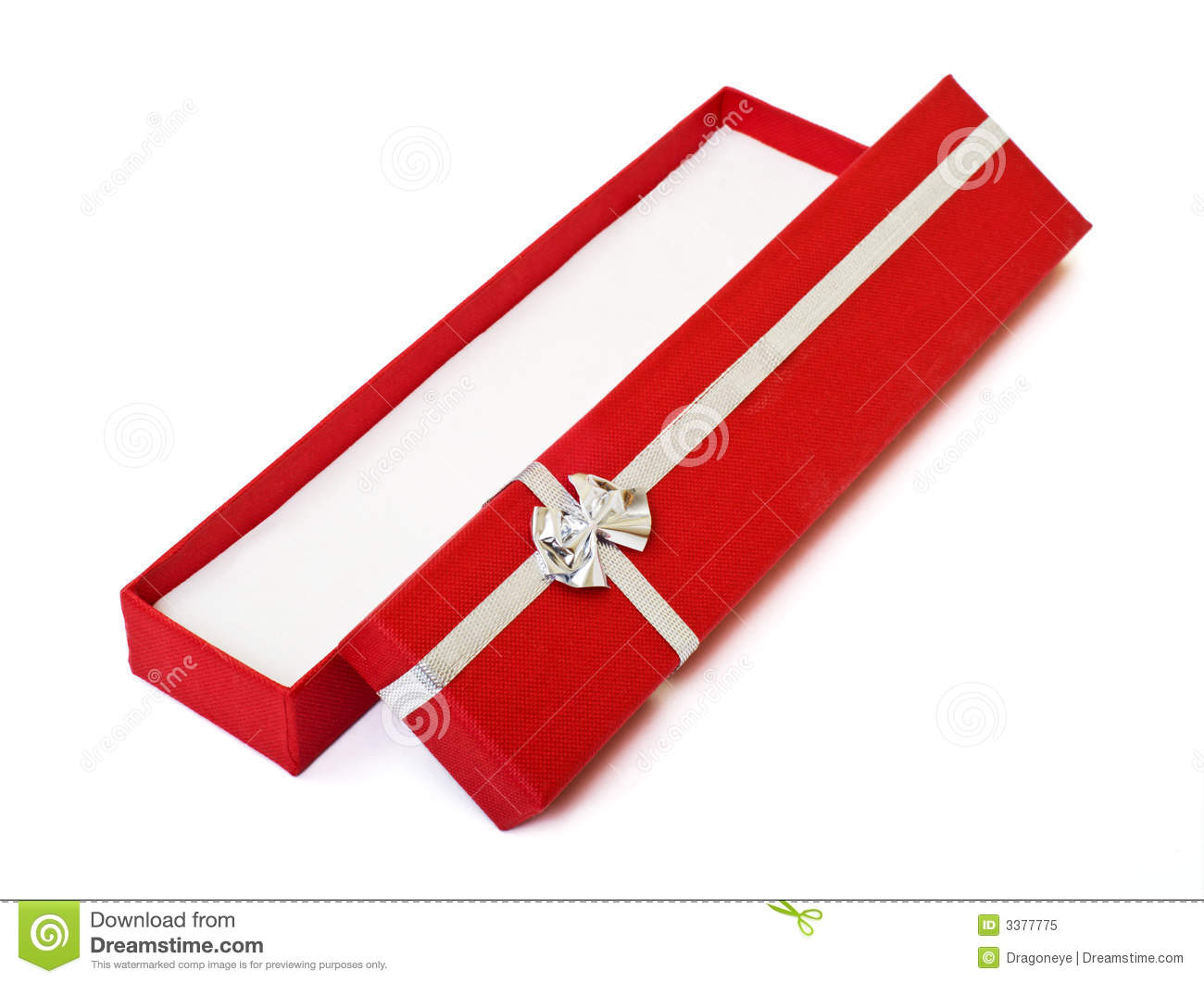 Red Gift Box Open Cutout Royalty Free Stock Photo - Image ...