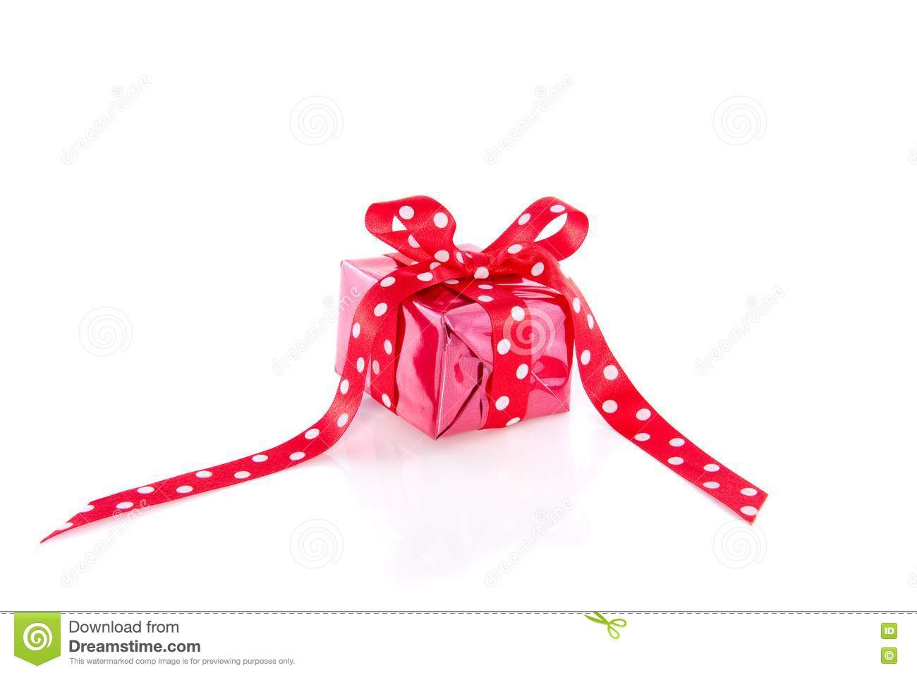 dotted red ribbon and - photo #8