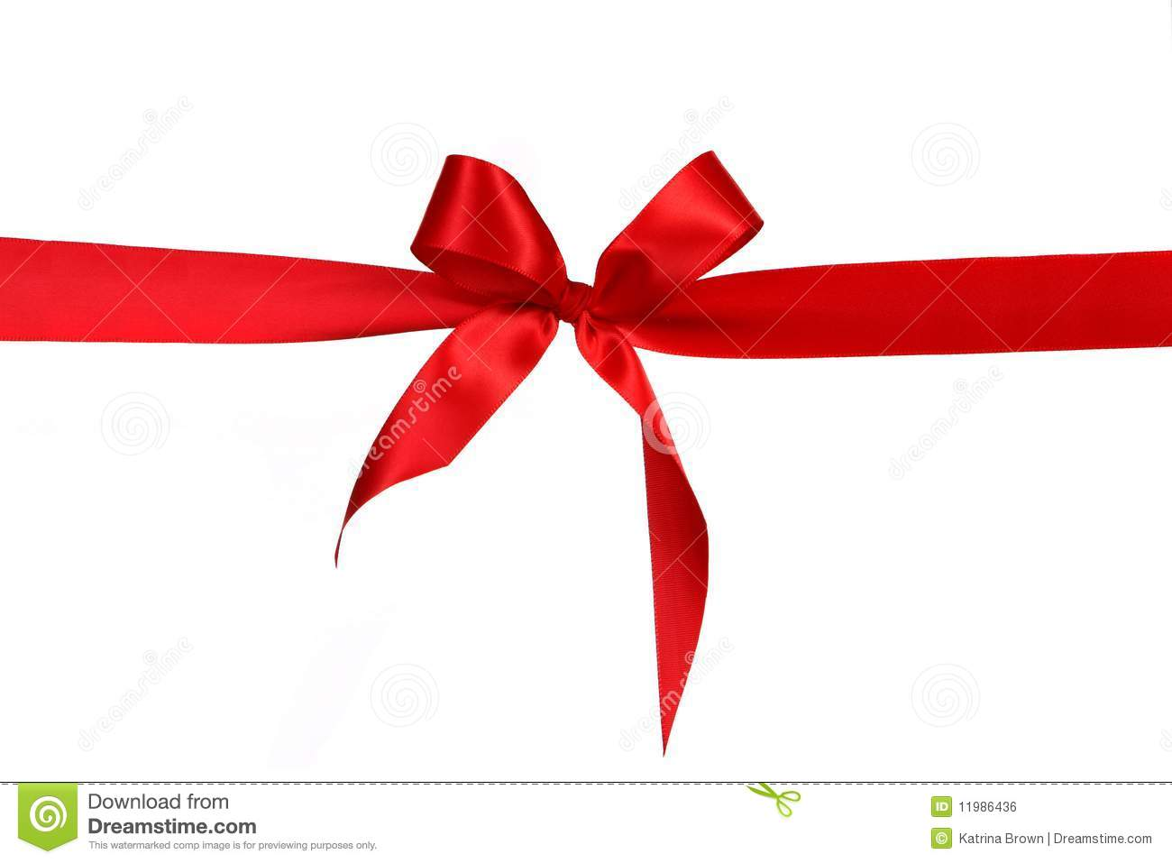 red gift ribbon bow stock illustration illustration of festive