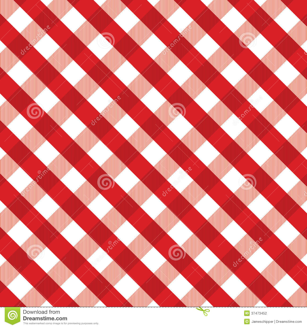 Red Gingham Background Stock Photography Image 37473452