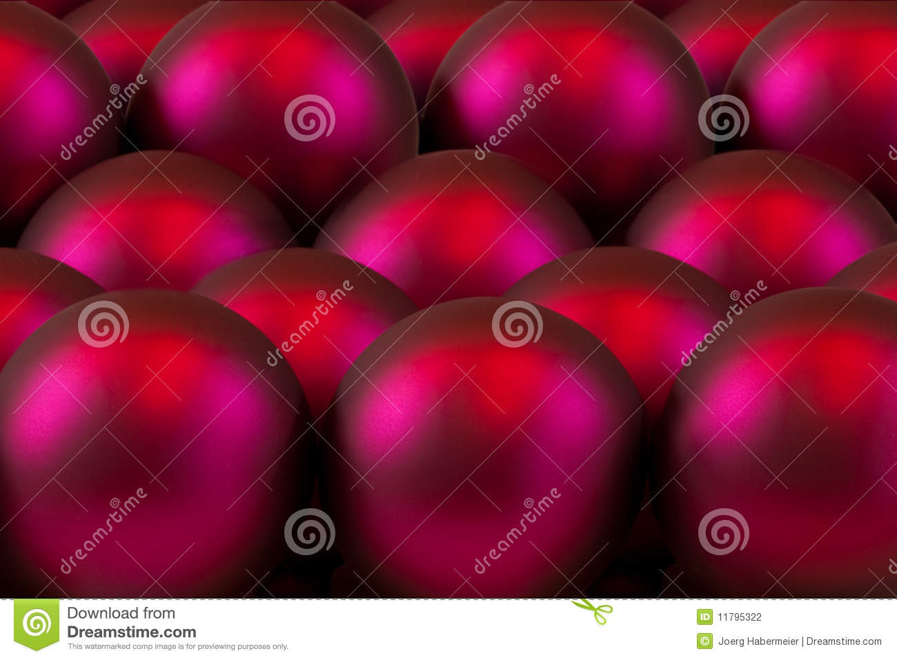 Red glass ball ornaments - Red Glass Ball Tree Ornaments