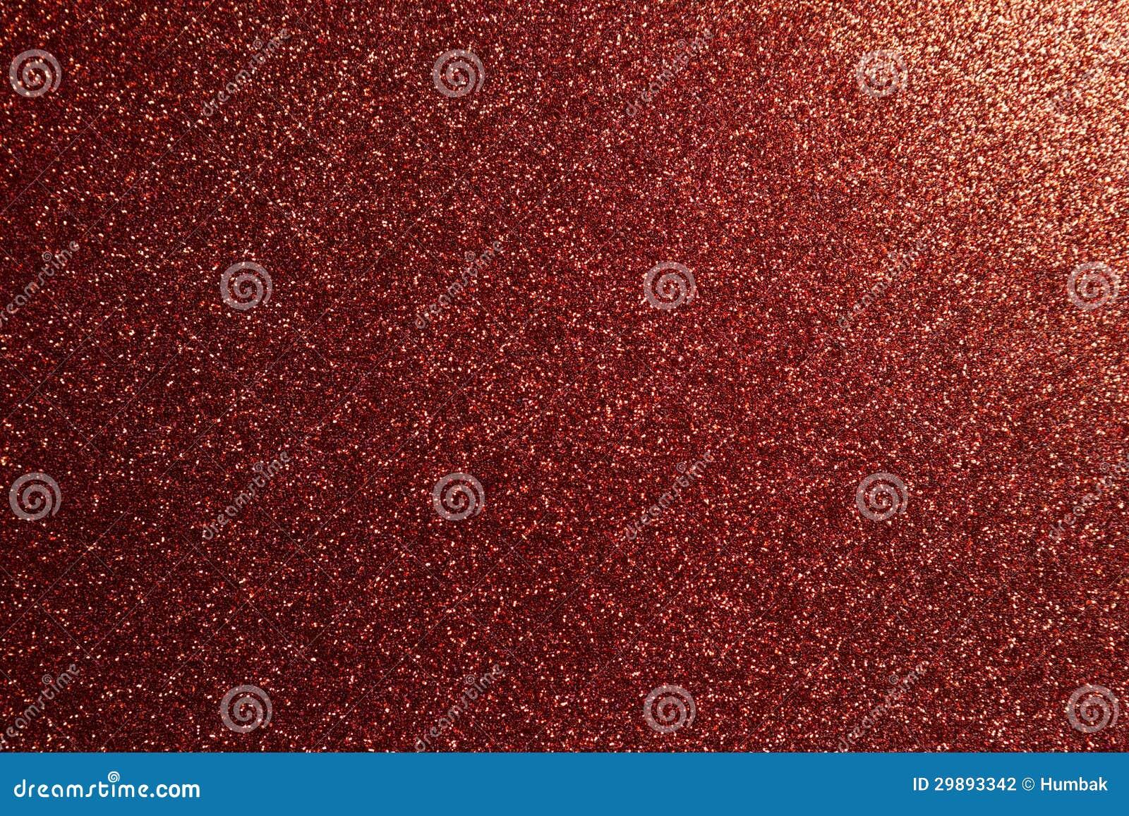 Red glitter full frame...