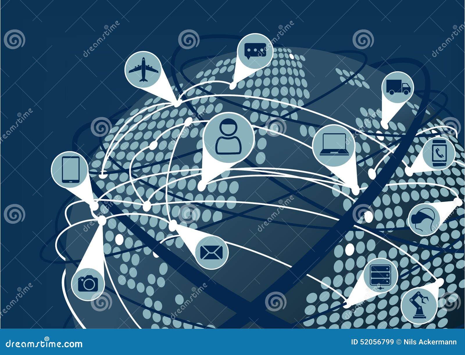 Red Global De Internet De Las Cosas (IoT) Como Ejemplo ...