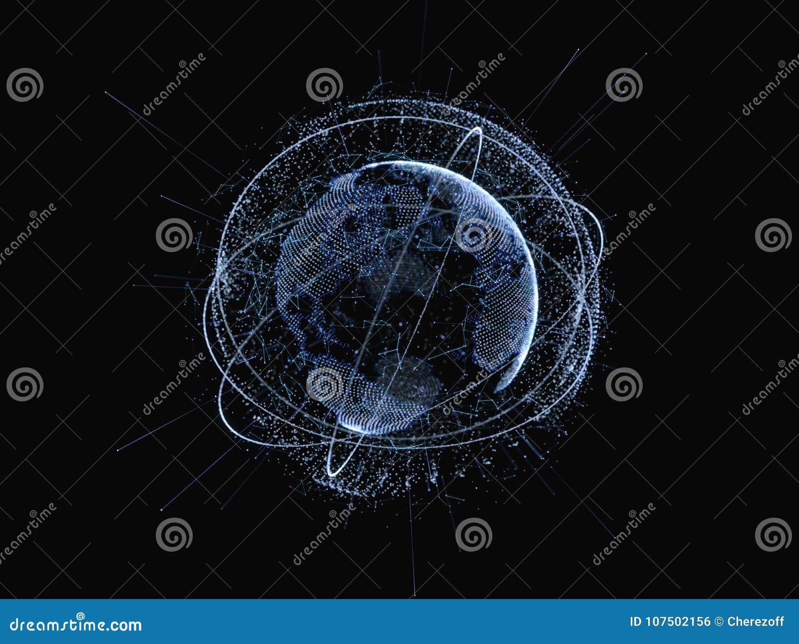 Red global e intercambios de datos sobre la tierra