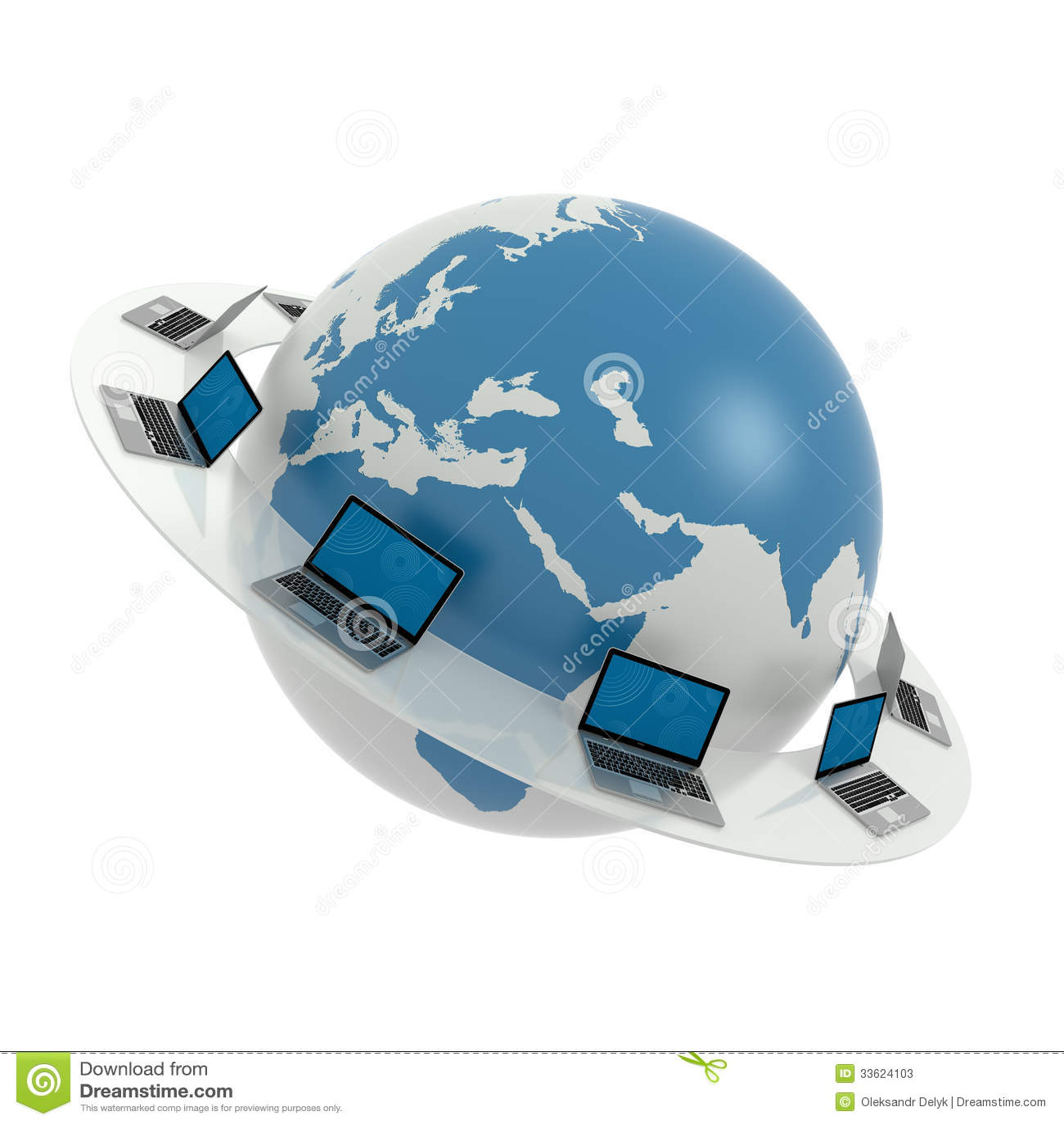 Red global internet ordenadores port tiles alrededor del - Fotos de ordenadores ...