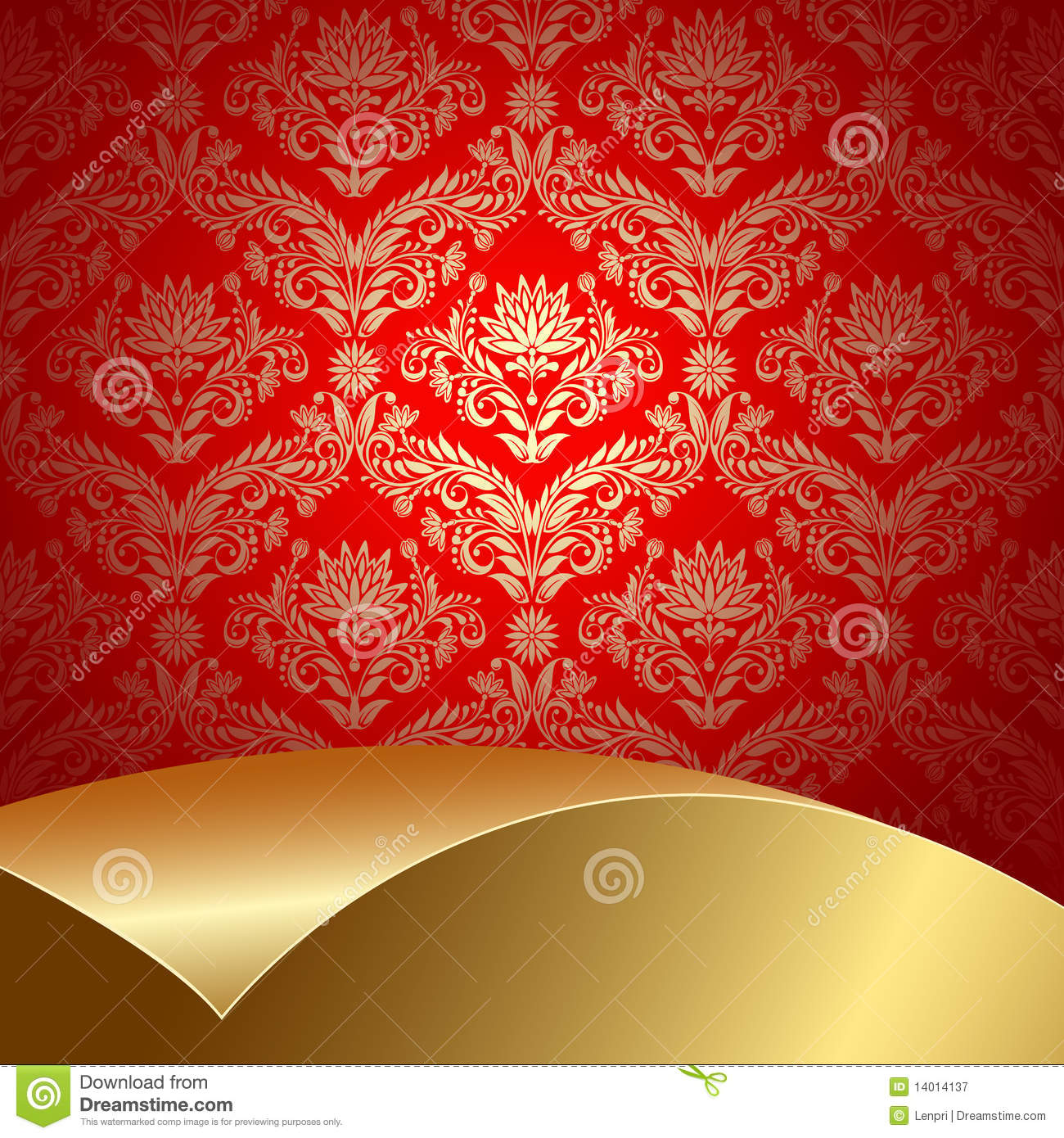 red golden background - photo #42