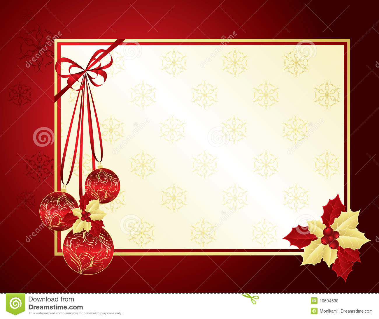 Red And Gold Christmas Background Royalty Free Stock Photos ...
