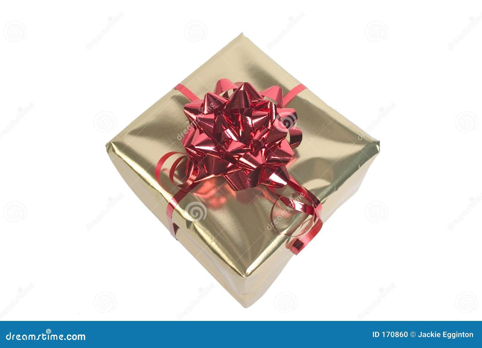 Red & Gold parcel