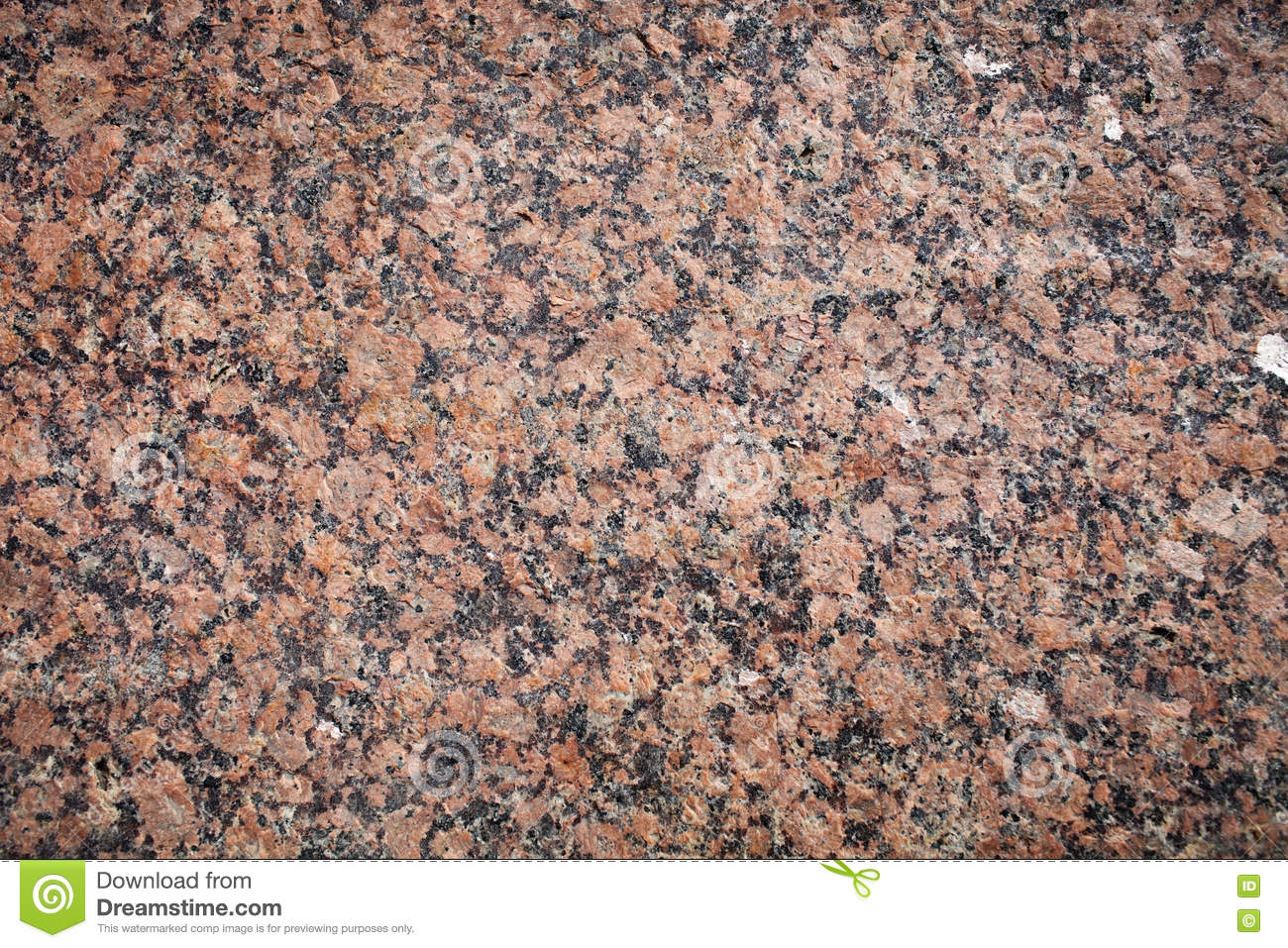 Red And Black Granite : Red granite texture stock photo image of minerals mica