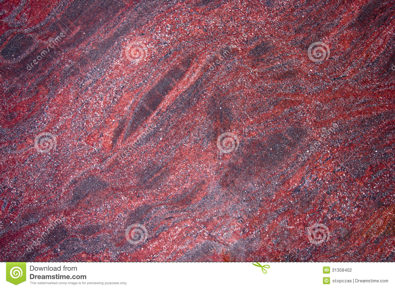 Red Marble slab texture