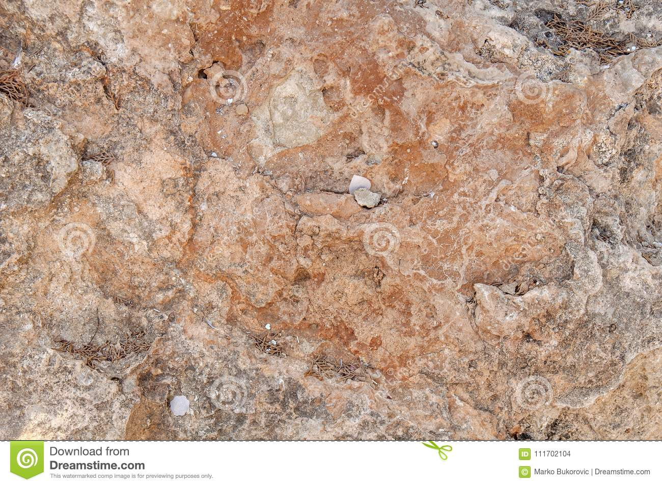 Red and gray rocky mountain cliff natural texture wall