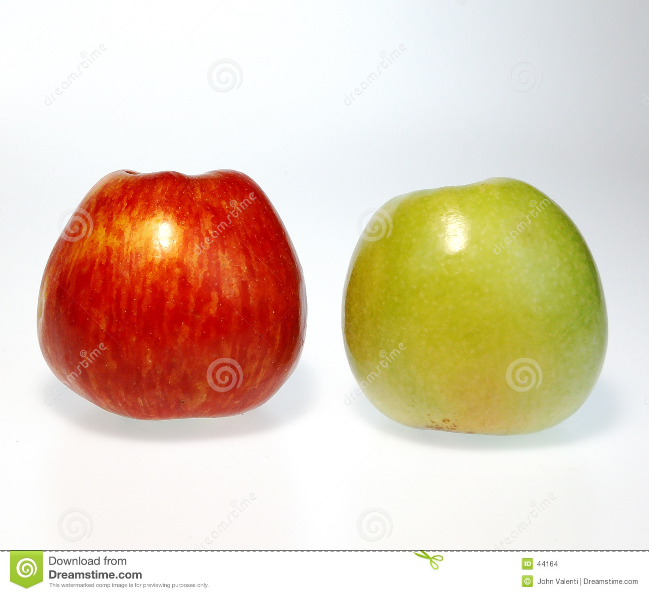 Red & Green apples