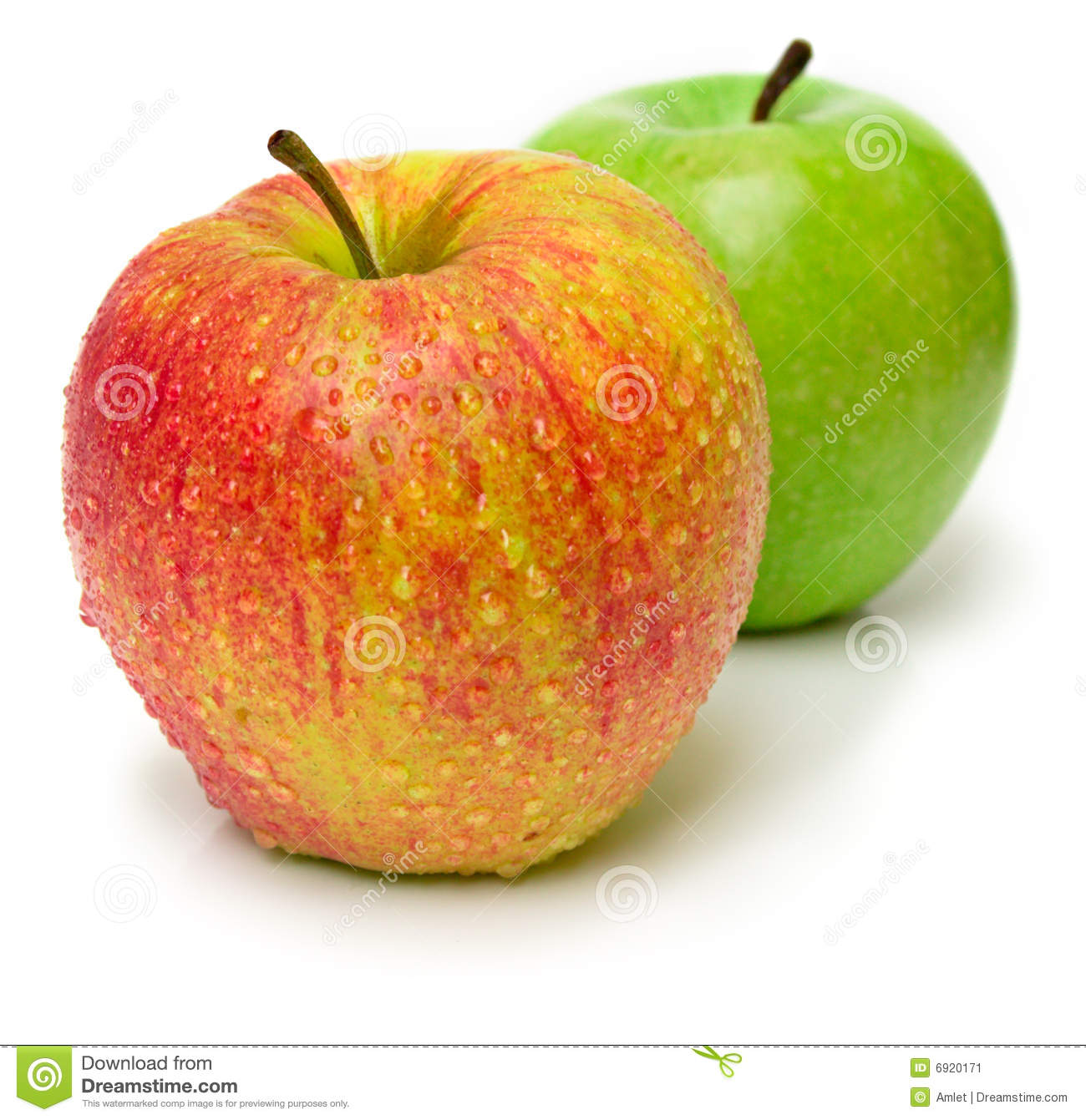 green and red apples. royalty-free stock photo. download red and green apples p