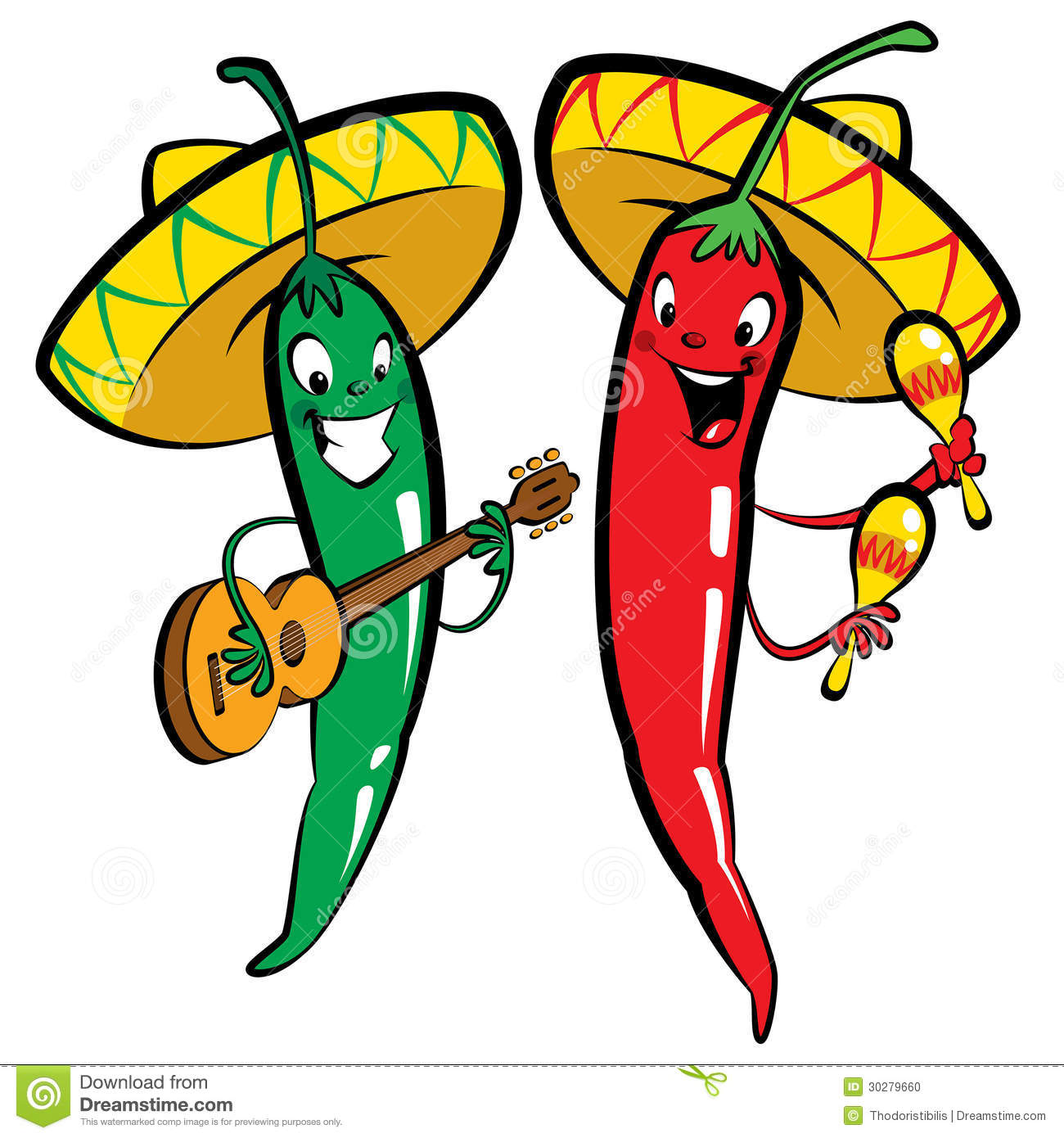 Clip Art Chili Pepper Clipart hot chili peppers clip art royalty free stock photos image 2968898 red and green character music group photo