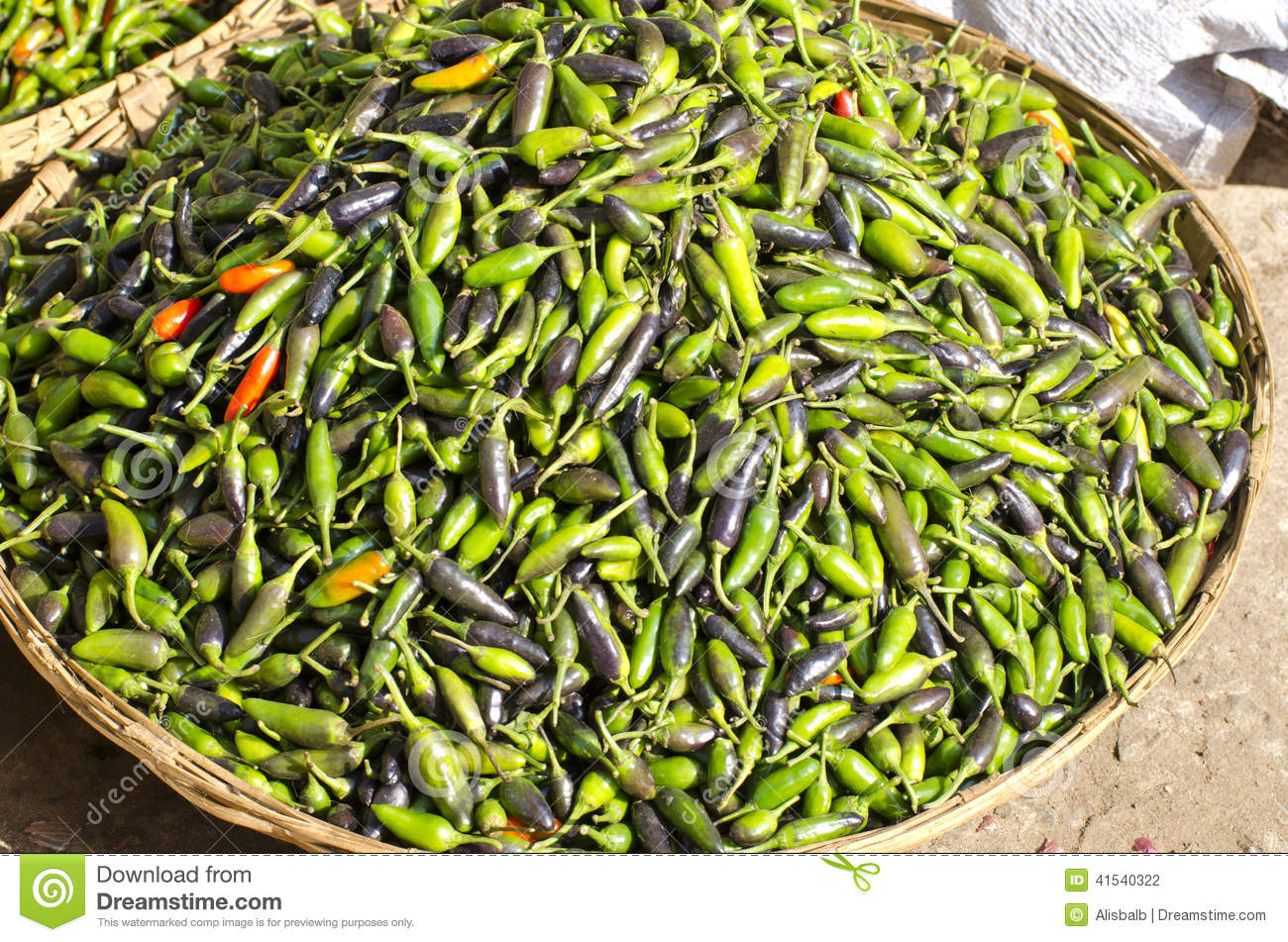 Pictures of asian peppers are not