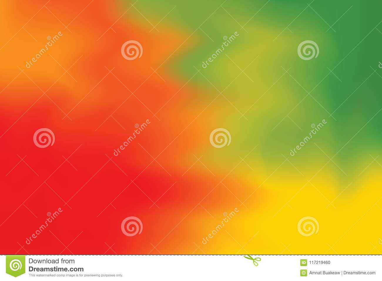 Red Green Yellow Soft Color Mixed Background Painting Art Pastel