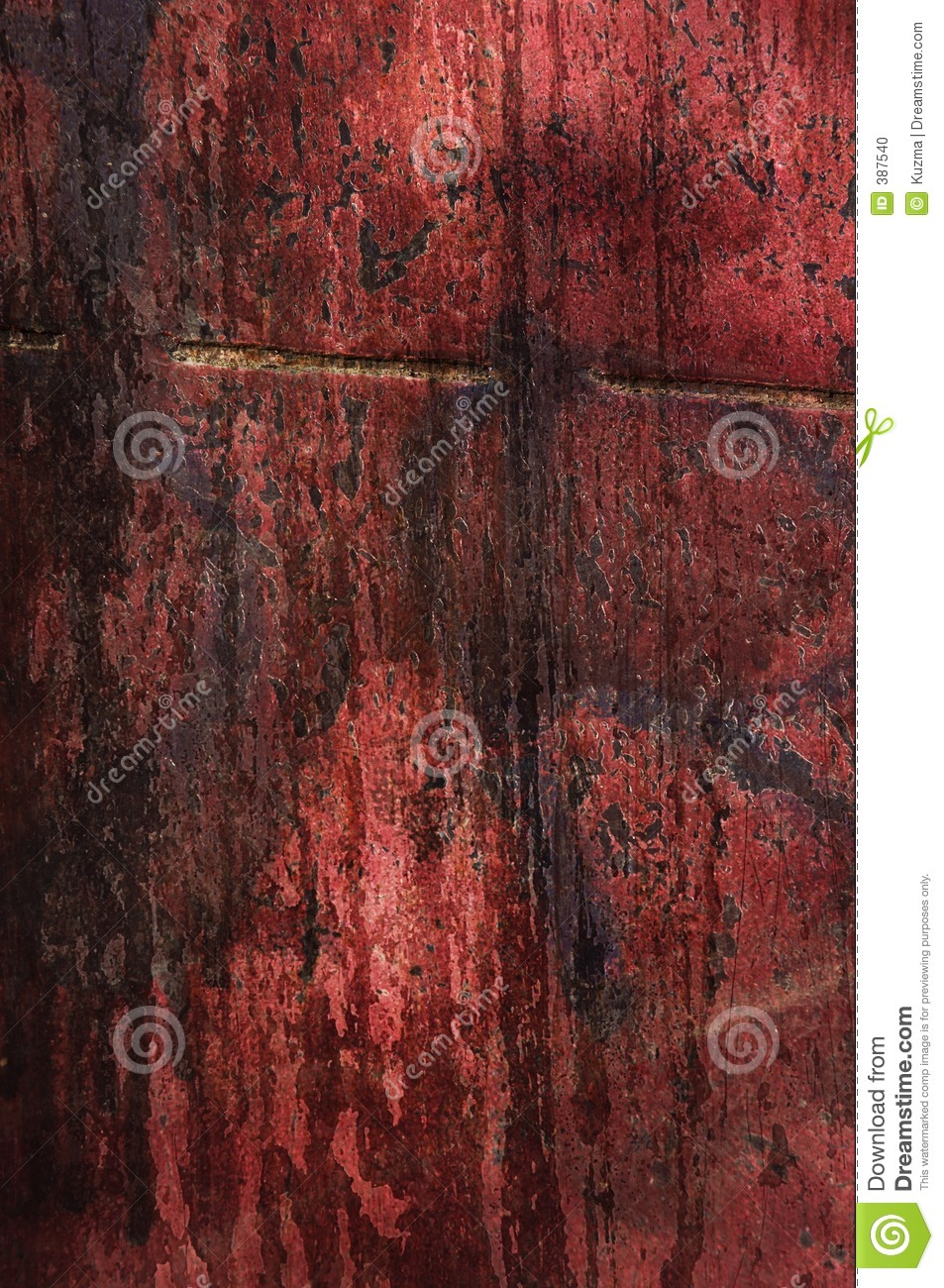 Red grungy texture