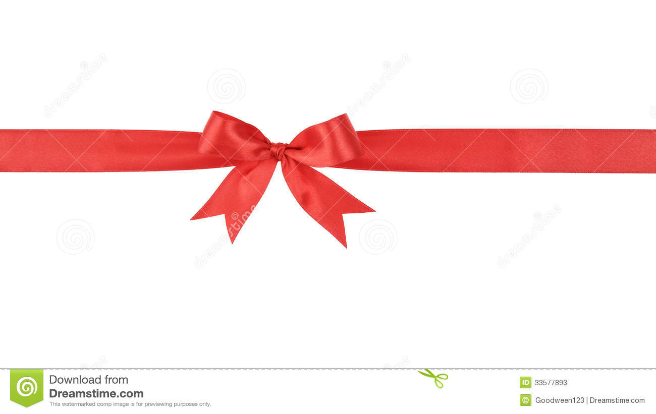 Red Handmade Ribbon With Bow Stock Photos - Image: 33577893: dreamstime.com/stock-photos-red-handmade-ribbon-bow-isolated-white...