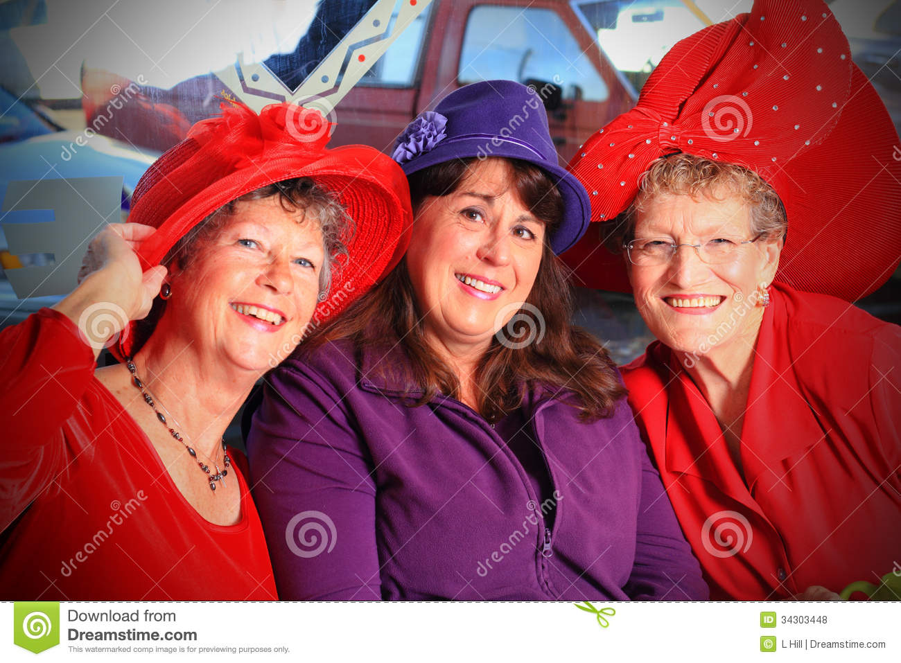 Red Hat-Dames