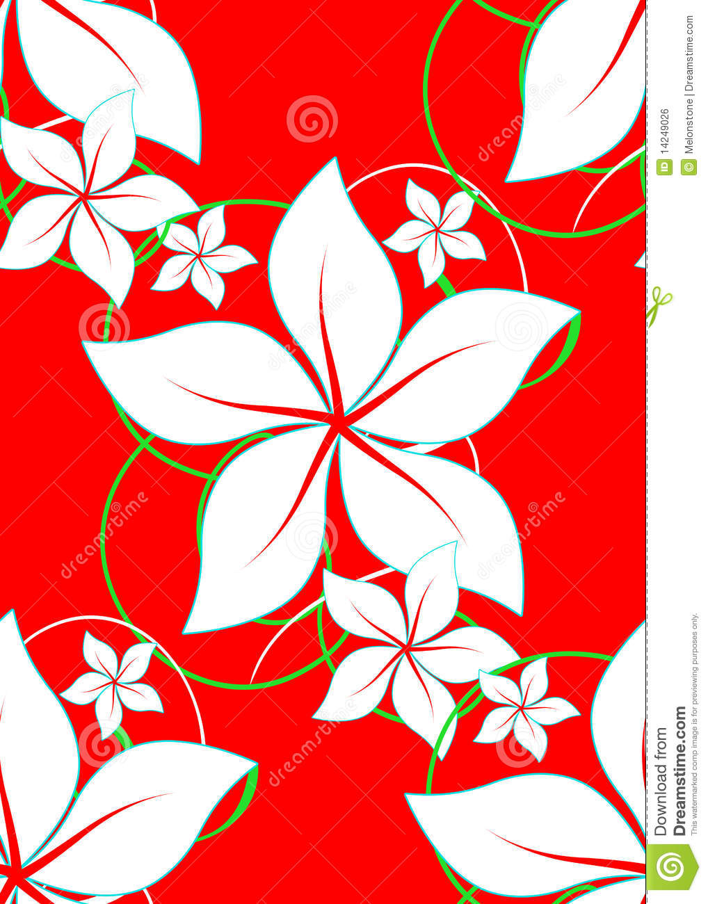 Red Hawaii Aloha Stock Illustration Illustration Of Design 14249026