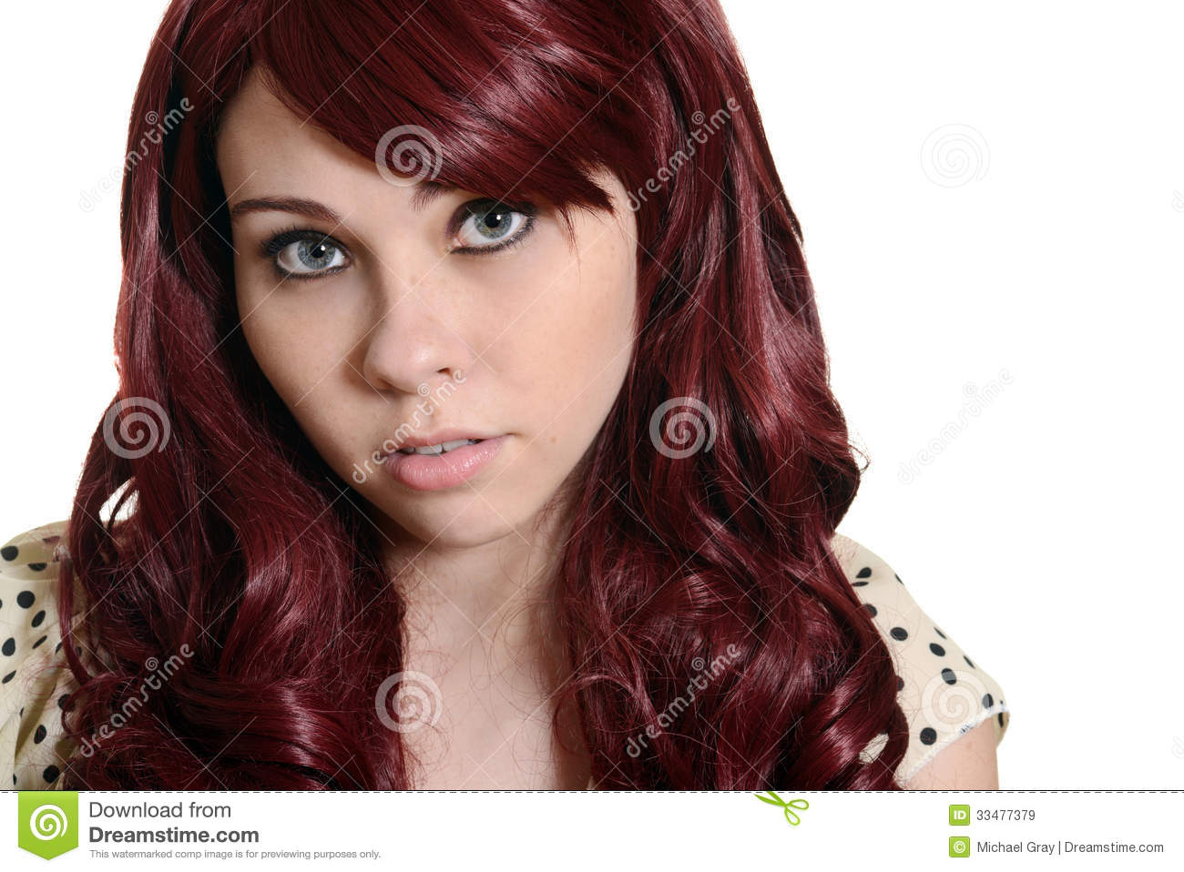 red head teen girl model picture gallery