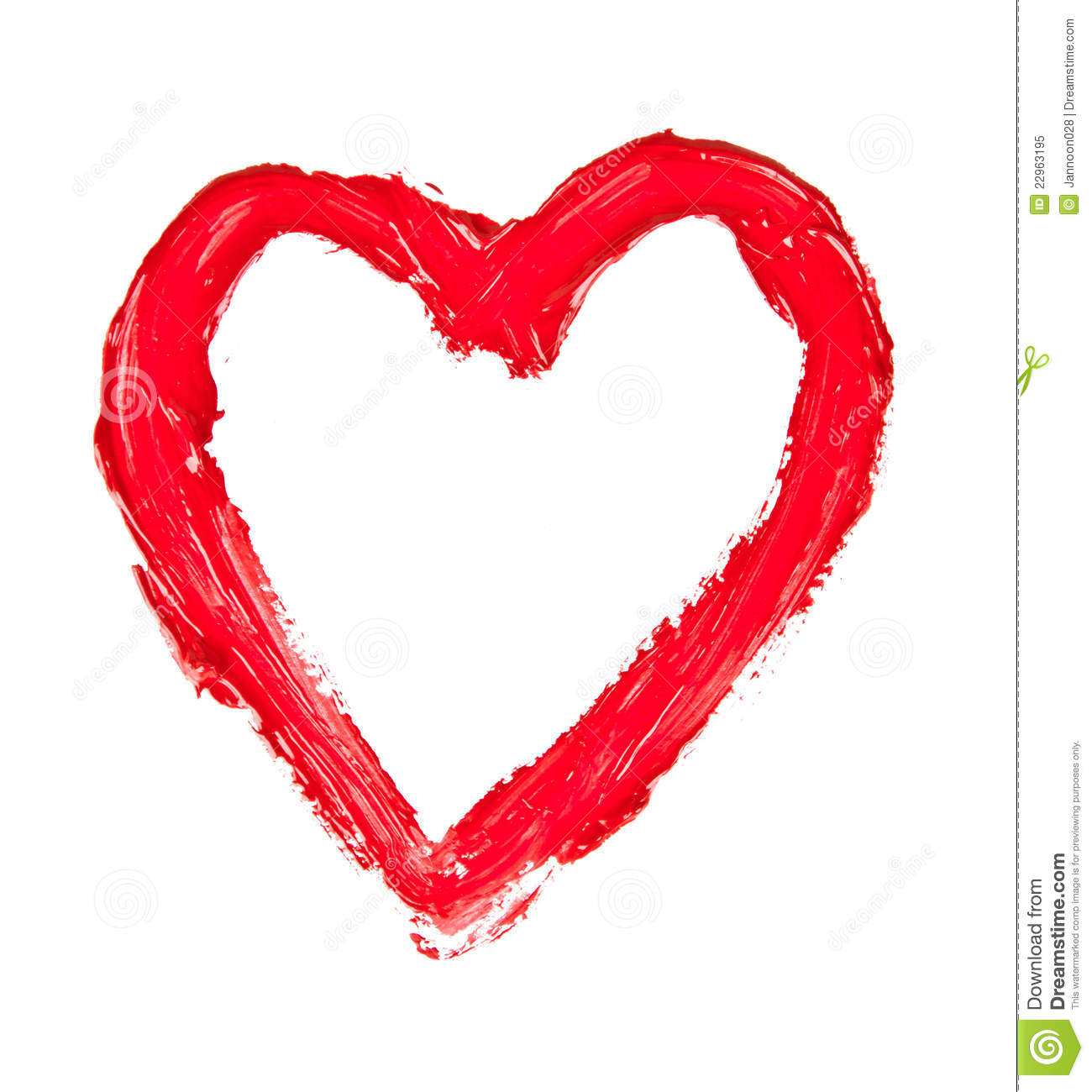 Red Heart Royalty Free Stock Photo - Image: 22963195