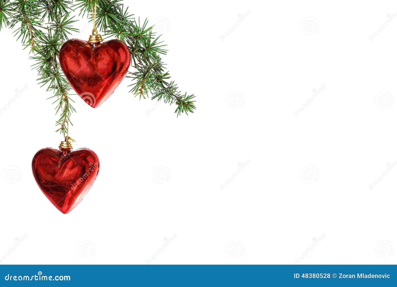 Christmas Heart Decoration.Red Heart Christmas Ornaments Stock Photo 48380528 Megapixl